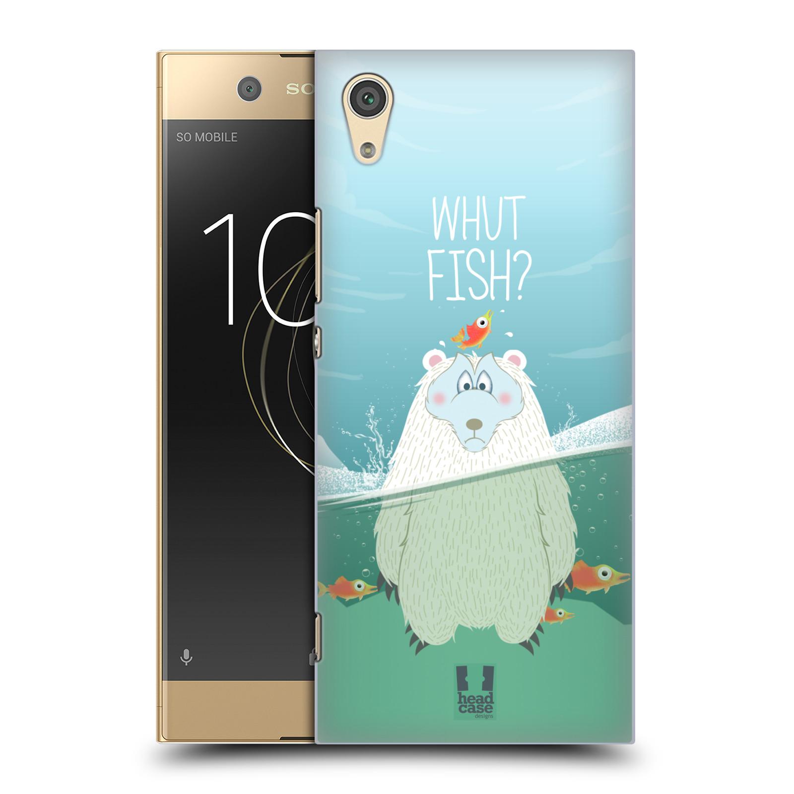 Plastové pouzdro na mobil Sony Xperia XA1 - Head Case - Medvěd Whut Fish?