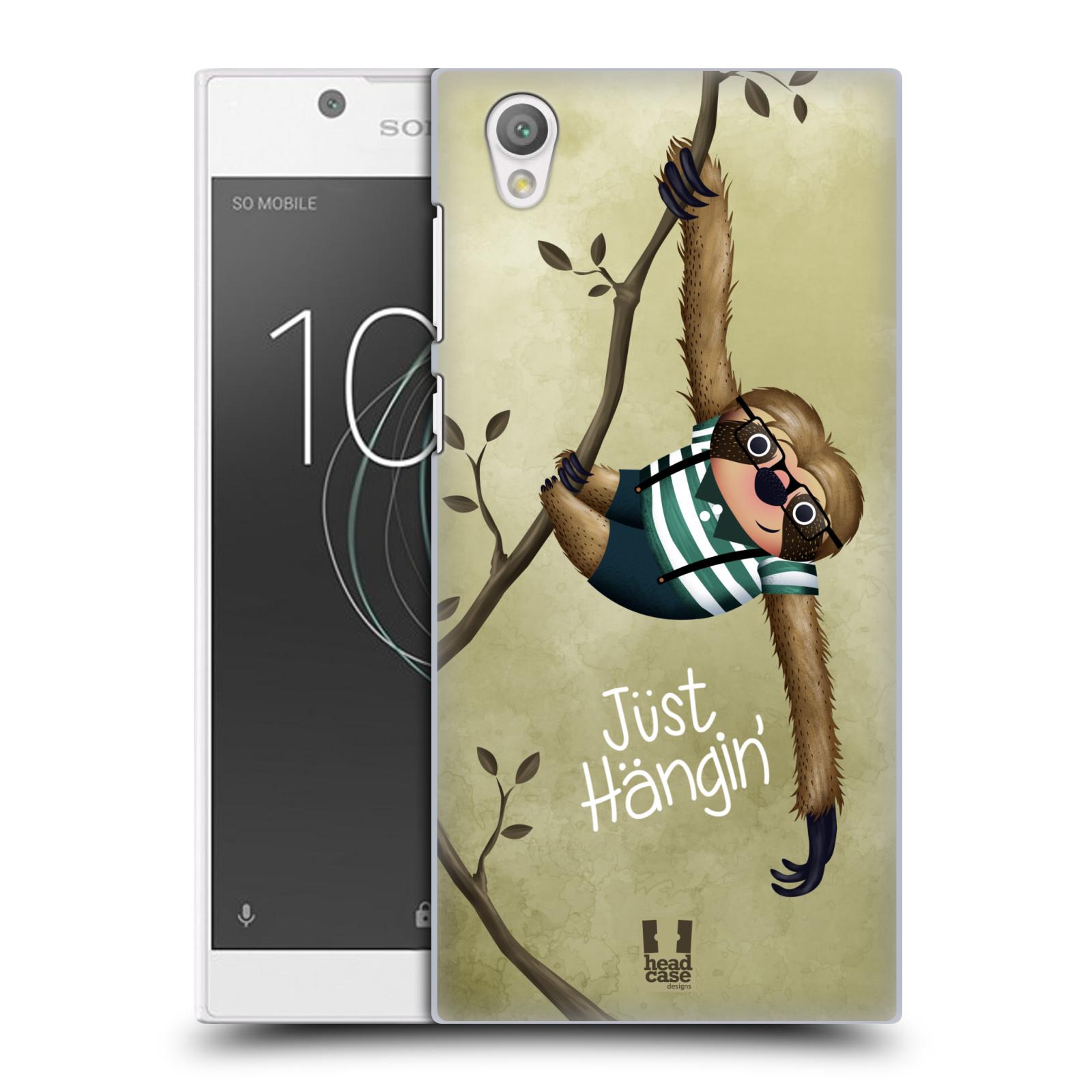 Plastové pouzdro na mobil Sony Xperia L1 - Head Case - Lenochod Just Hangin