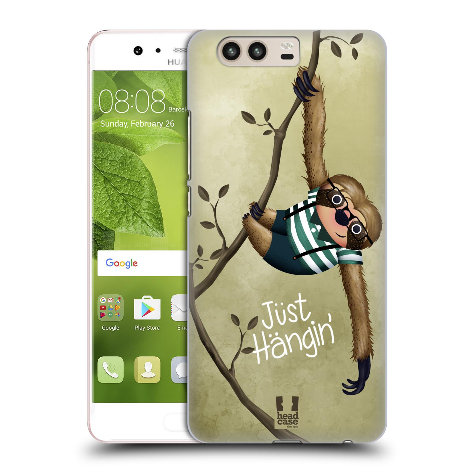 Plastové pouzdro na mobil Huawei P10 - Head Case Lenochod Just Hangin