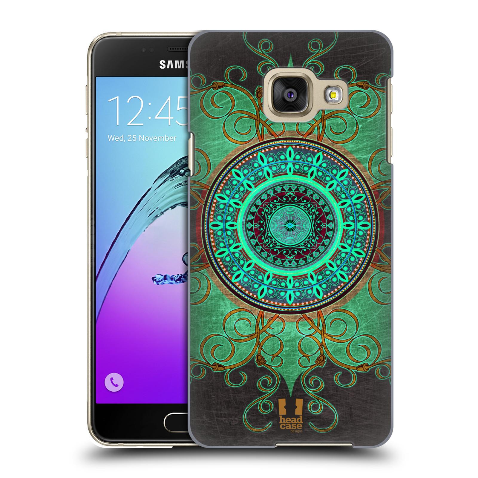 Plastové pouzdro na mobil Samsung Galaxy A3 (2016) HEAD CASE ARAB MANDALA