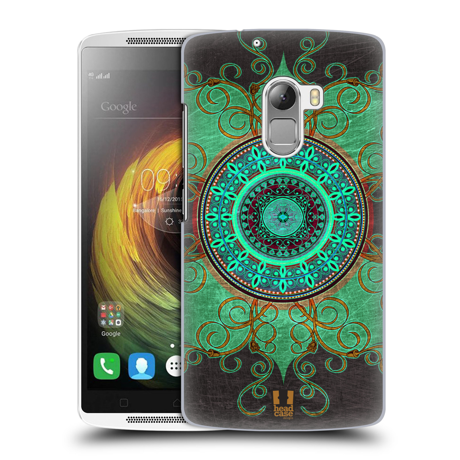 Plastové pouzdro na mobil Lenovo A7010 HEAD CASE ARAB MANDALA