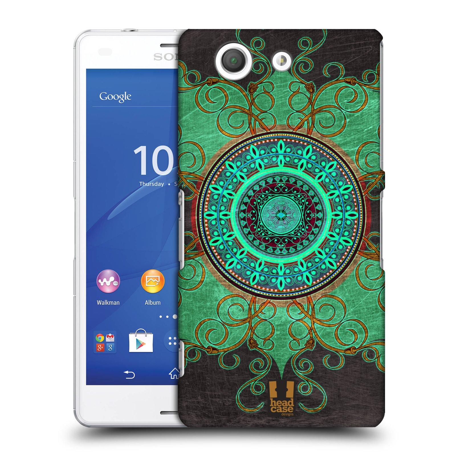 Plastové pouzdro na mobil Sony Xperia Z3 Compact D5803 HEAD CASE ARAB MANDALA