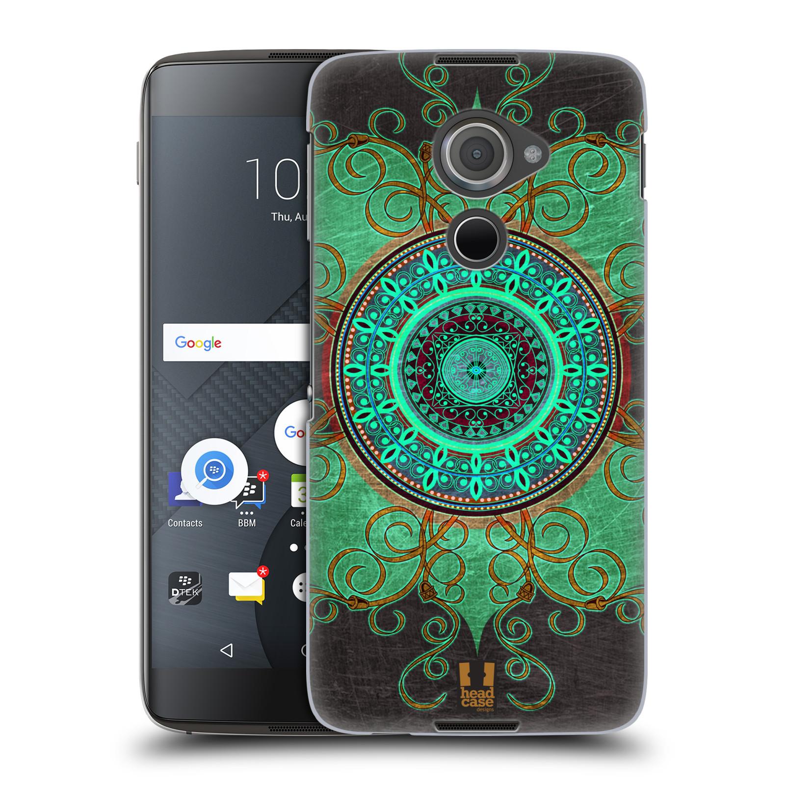 Plastové pouzdro na mobil Blackberry DTEK60 (Argon) - Head Case ARAB MANDALA