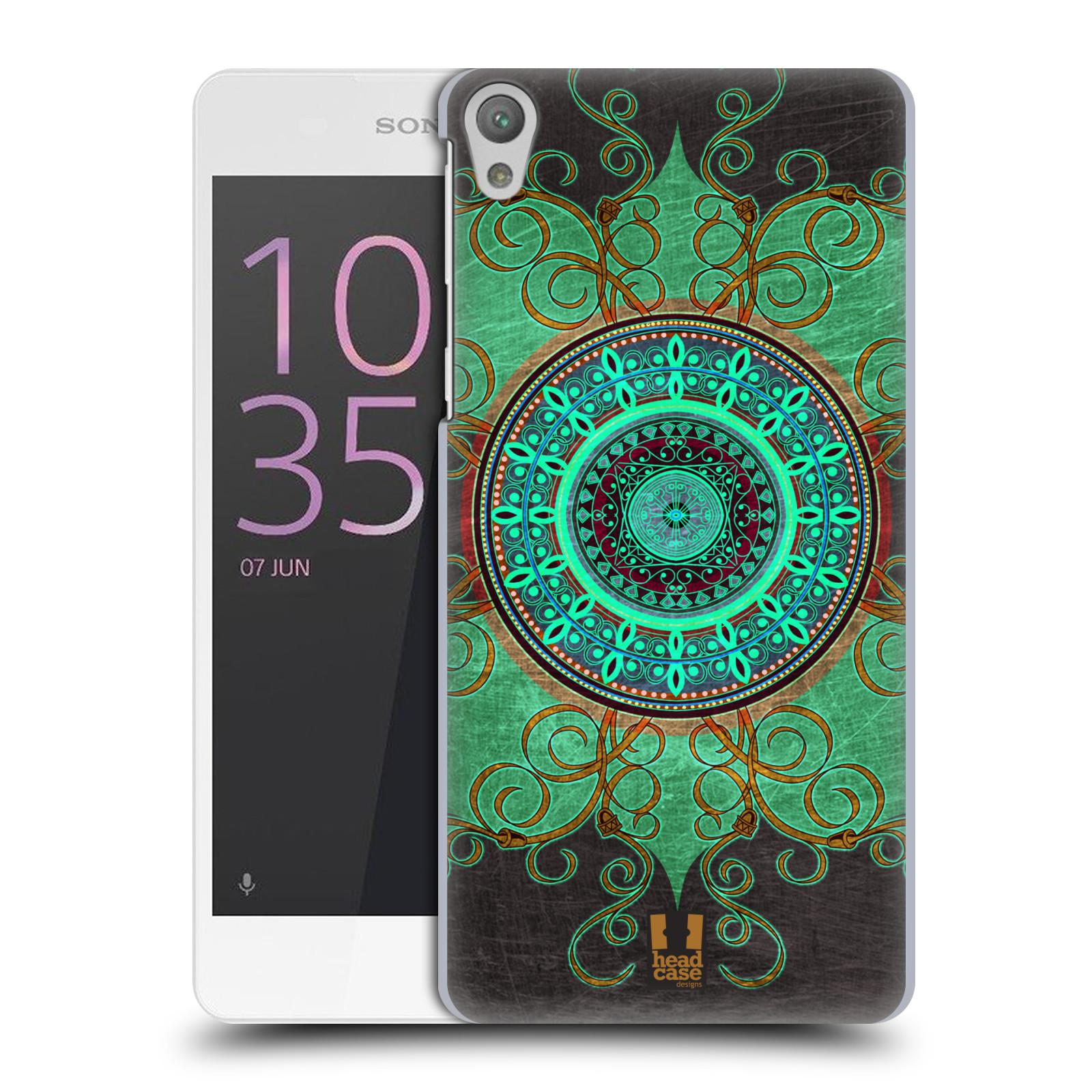 Plastové pouzdro na mobil Sony Xperia E5 HEAD CASE ARAB MANDALA