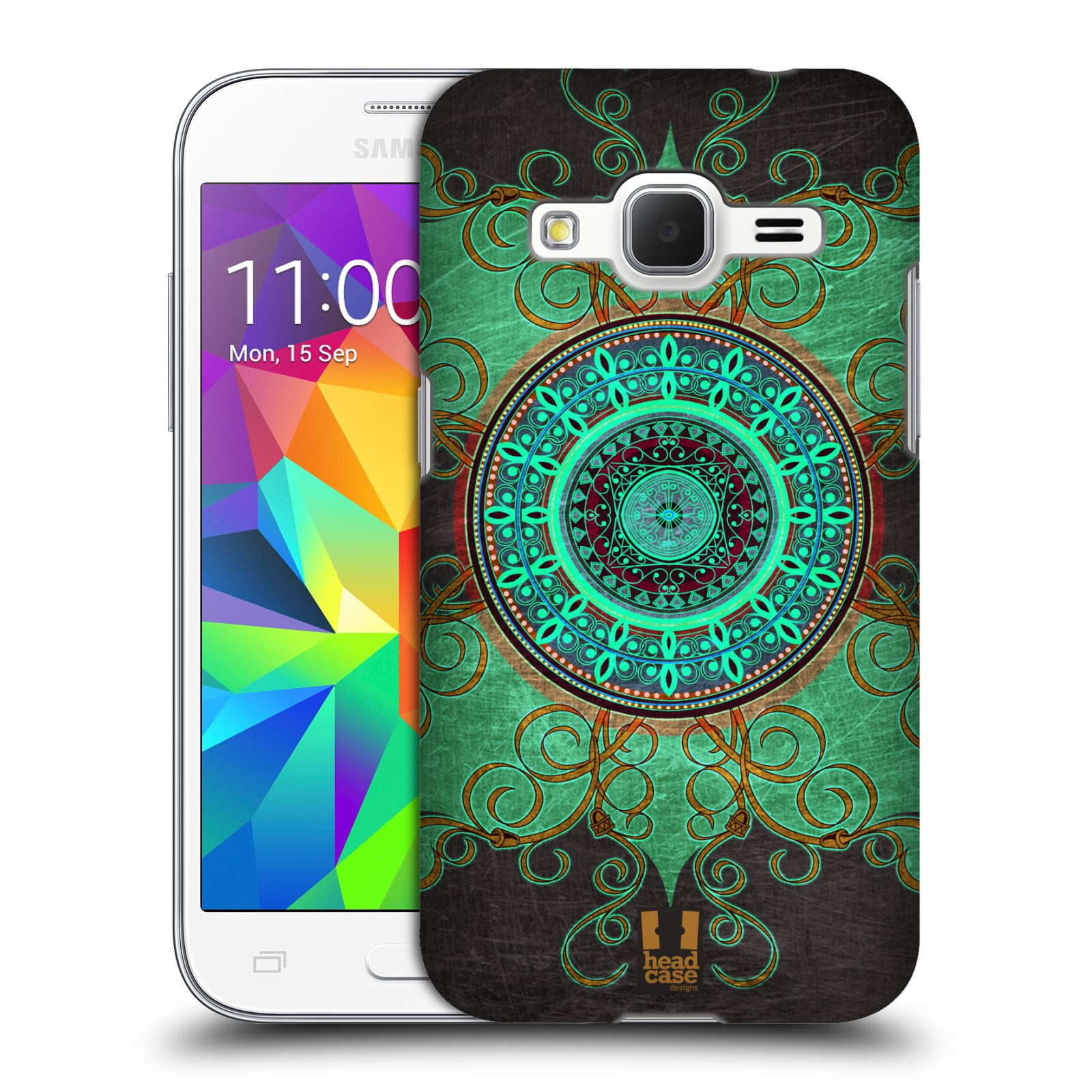 Plastové pouzdro na mobil Samsung Galaxy Core Prime LTE HEAD CASE ARAB MANDALA