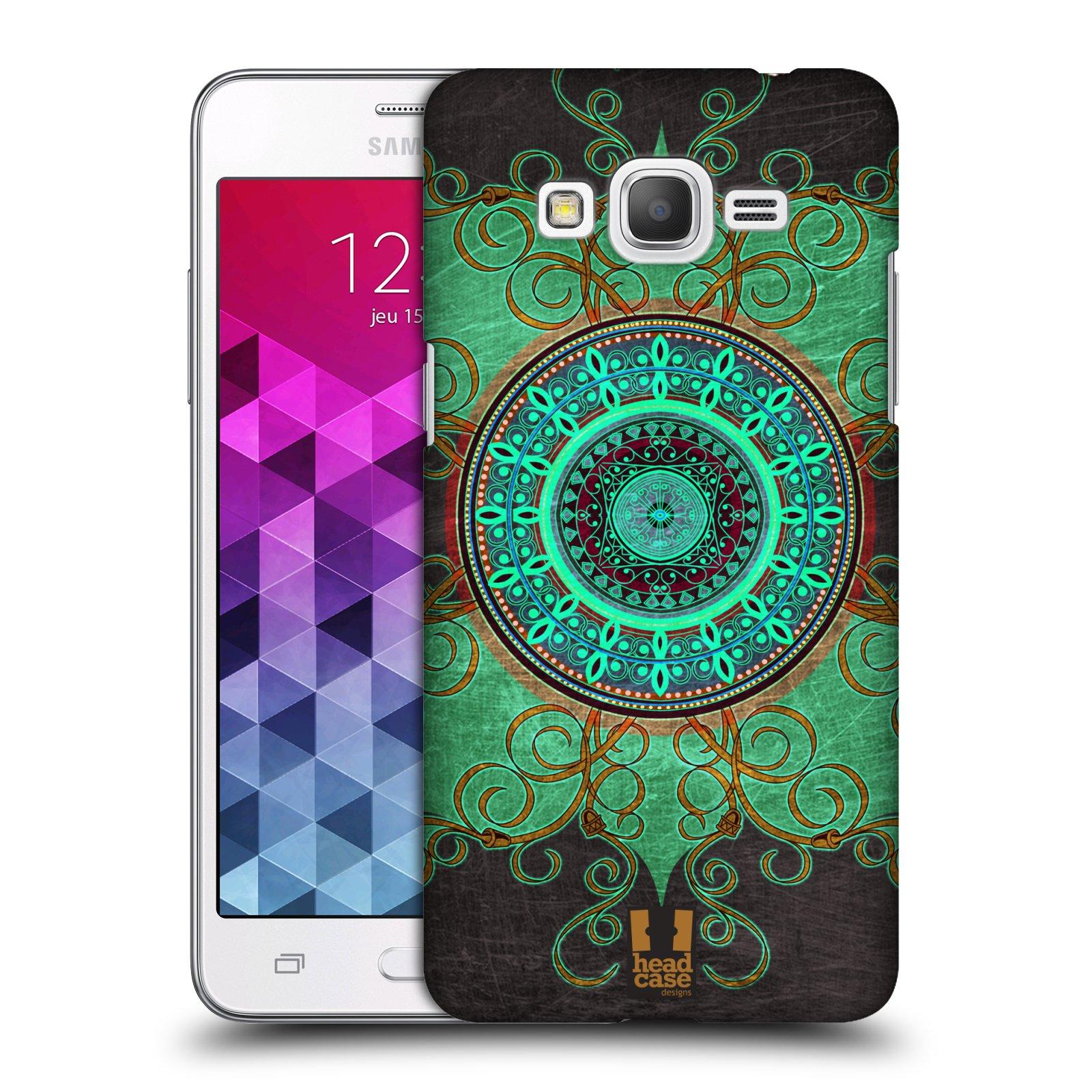 Plastové pouzdro na mobil Samsung Galaxy Grand Prime VE HEAD CASE ARAB MANDALA