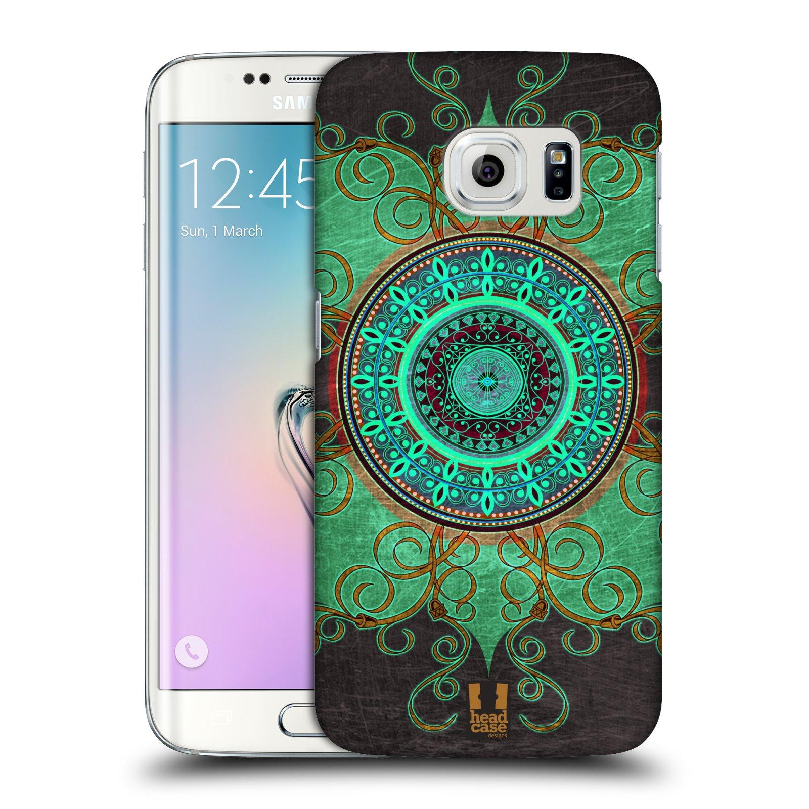Plastové pouzdro na mobil Samsung Galaxy S6 Edge HEAD CASE ARAB MANDALA
