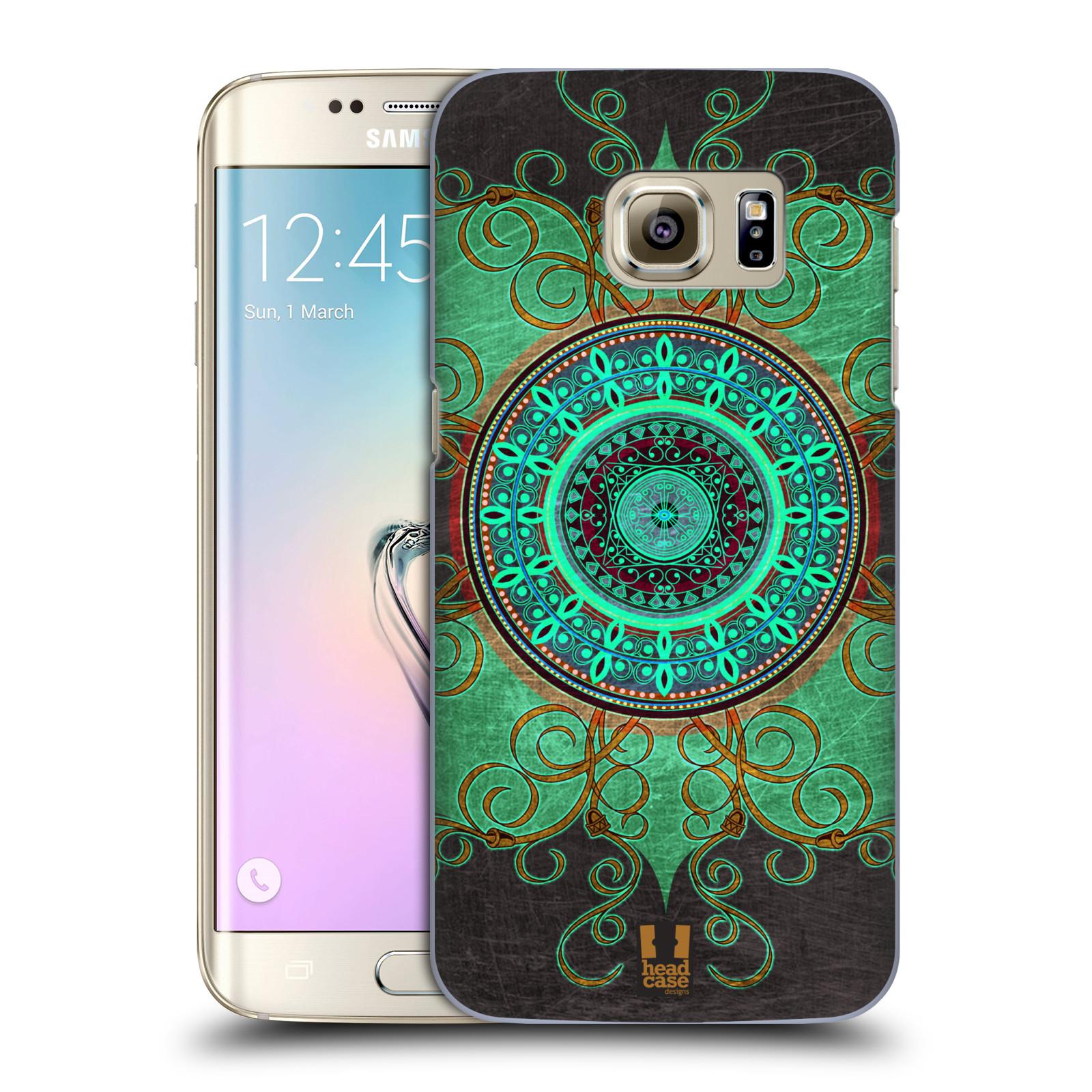 Plastové pouzdro na mobil Samsung Galaxy S7 Edge HEAD CASE ARAB MANDALA