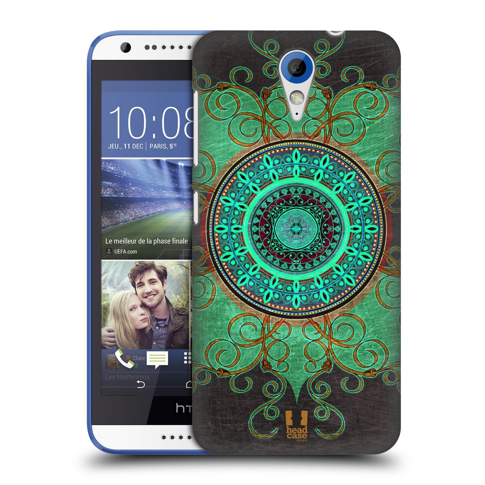 Plastové pouzdro na mobil HTC Desire 620 HEAD CASE ARAB MANDALA