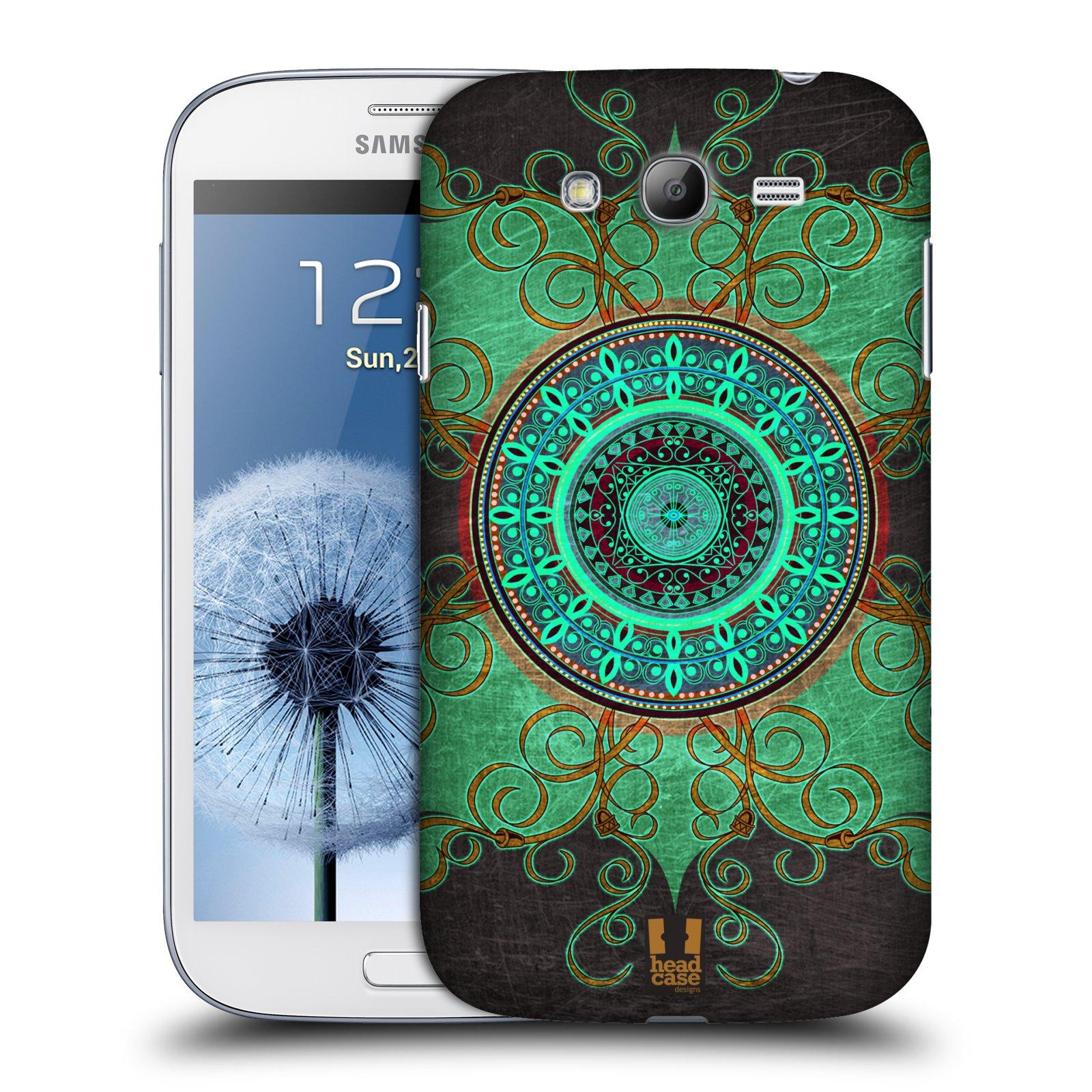 Pouzdra Samsung Plastov Pouzdro Na Mobil Galaxy Grand Neo Plus I9060 Head Case Arab Mandala
