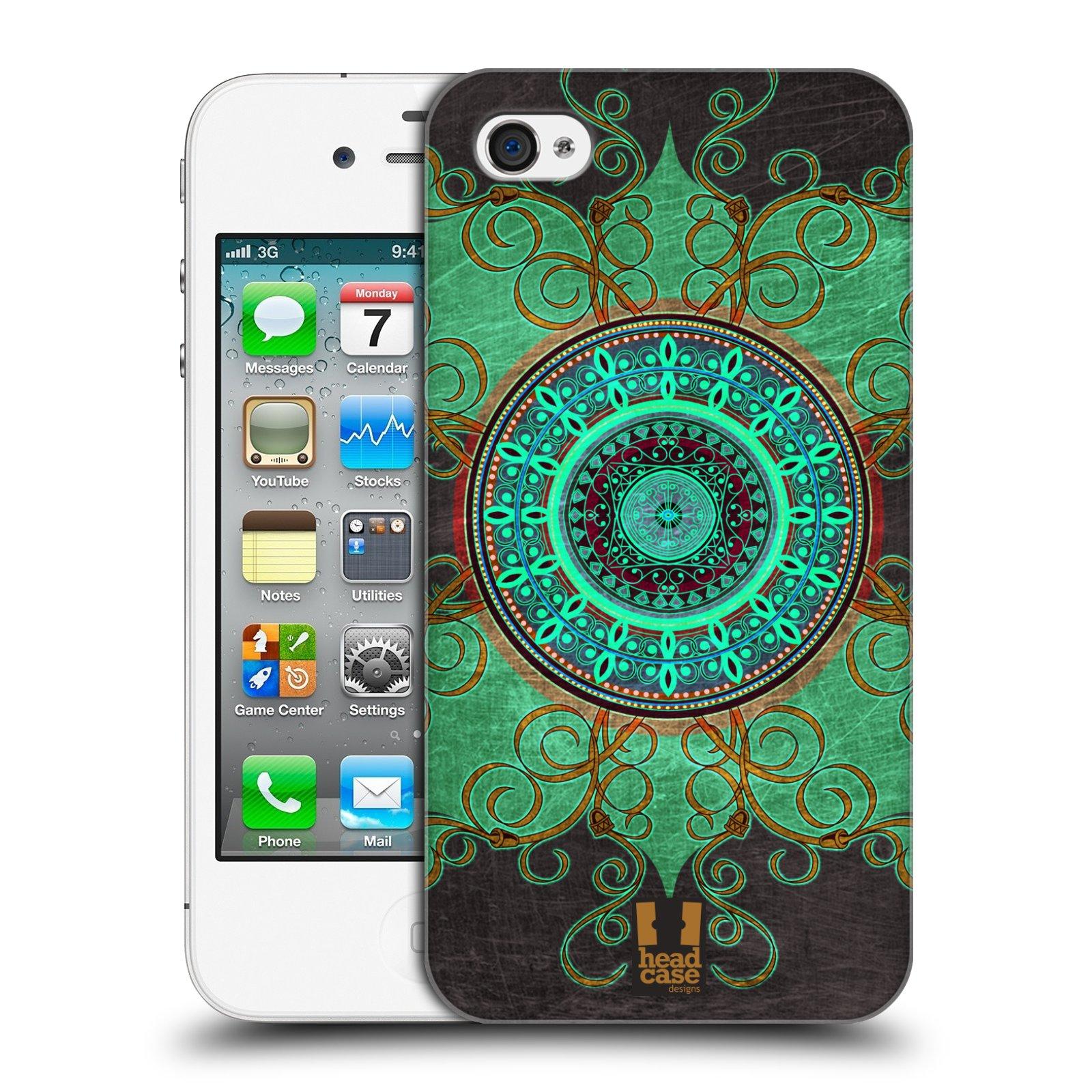 Plastové pouzdro na mobil Apple iPhone 4 a 4S HEAD CASE ARAB MANDALA