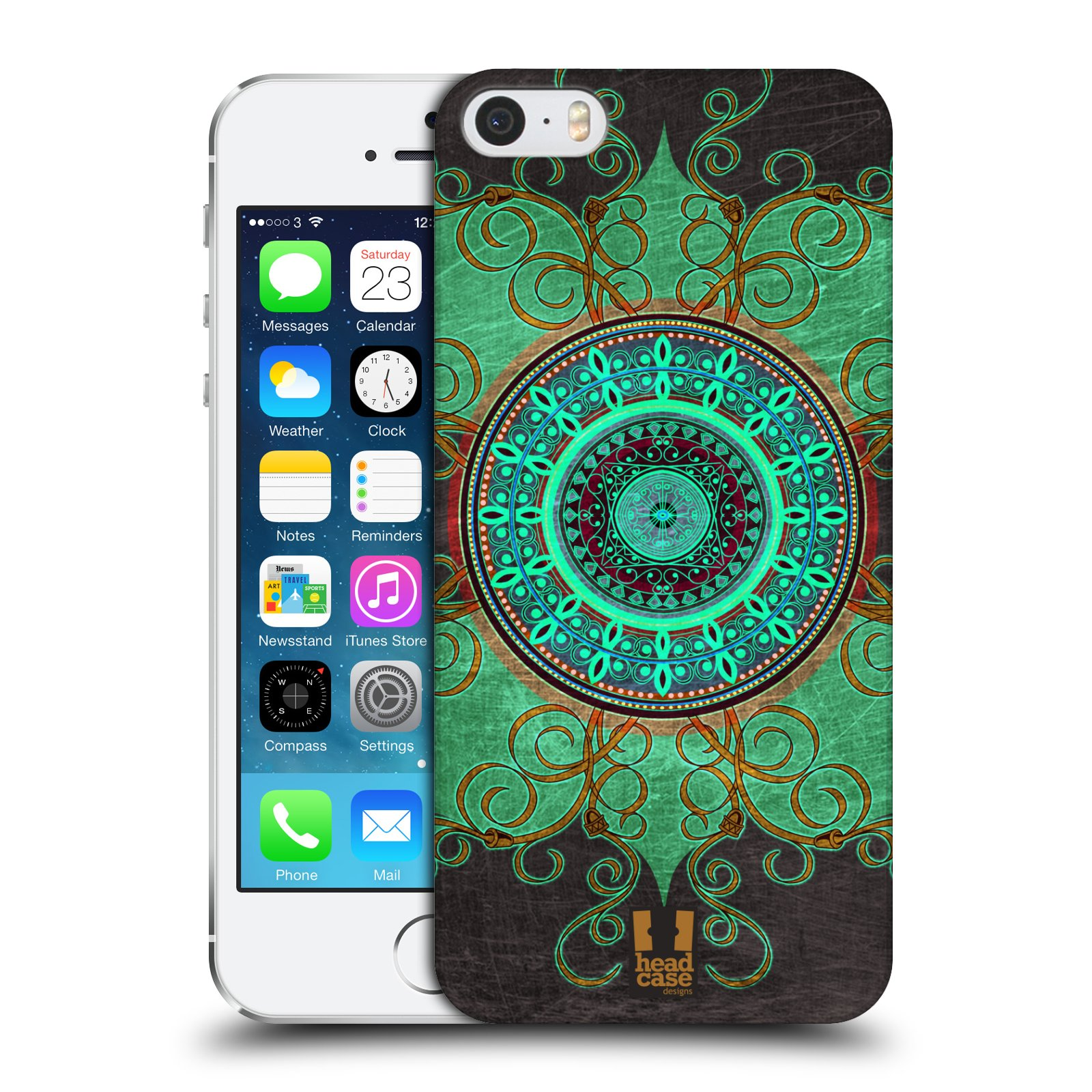 Plastové pouzdro na mobil Apple iPhone SE, 5 a 5S HEAD CASE ARAB MANDALA
