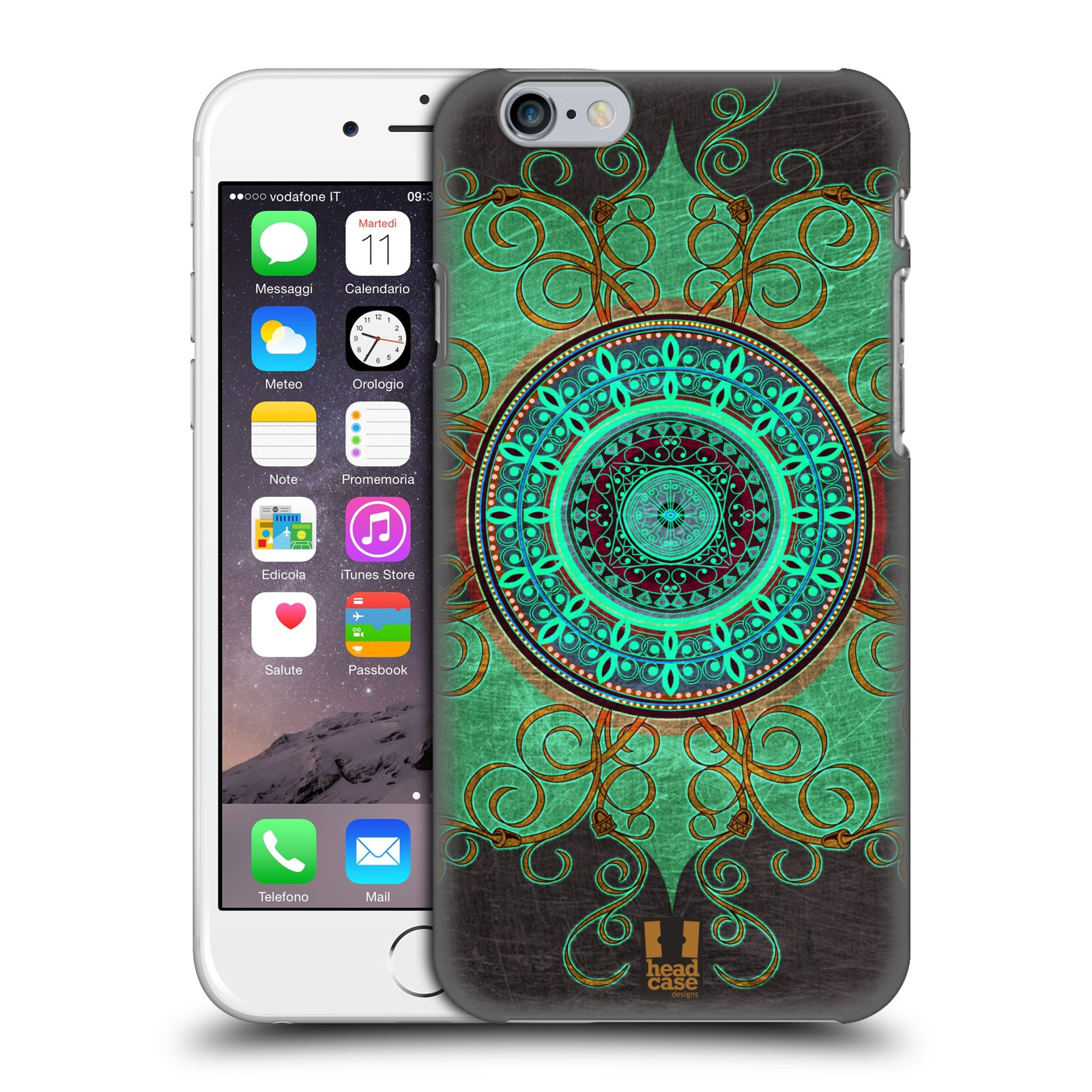 Plastové pouzdro na mobil Apple iPhone 6 a 6S HEAD CASE ARAB MANDALA