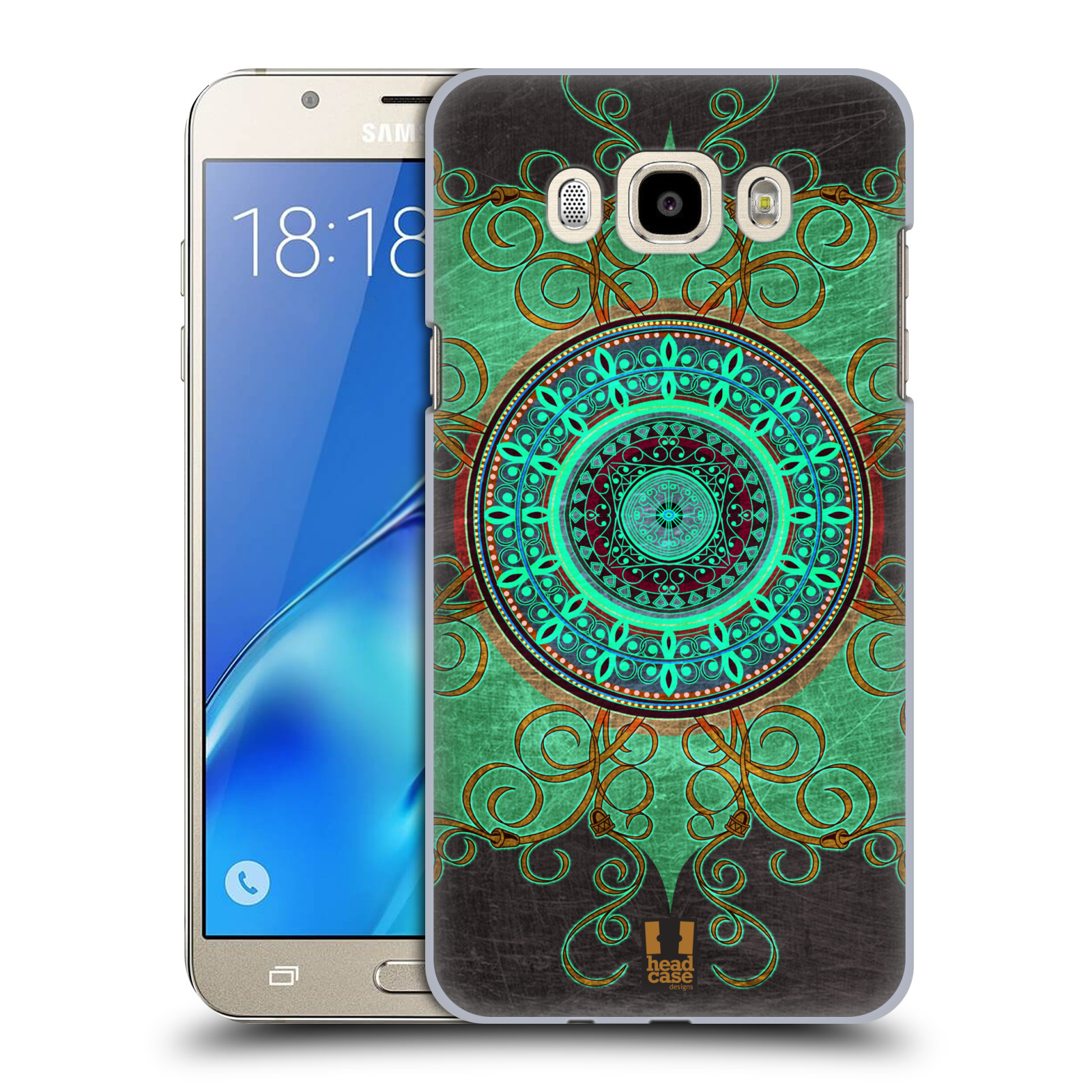Plastové pouzdro na mobil Samsung Galaxy J7 (2016) HEAD CASE ARAB MANDALA