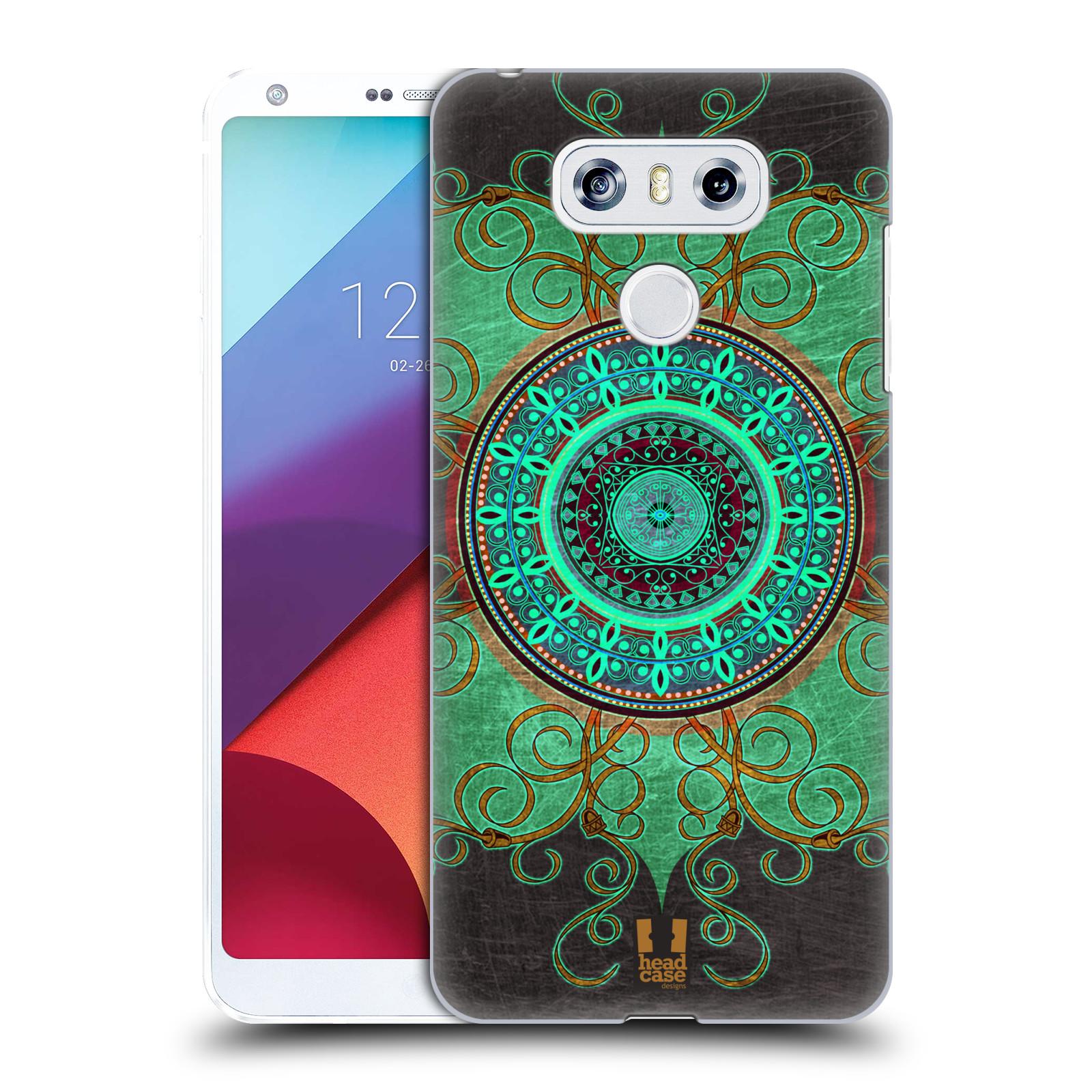 Plastové pouzdro na mobil LG G6 - Head Case ARAB MANDALA