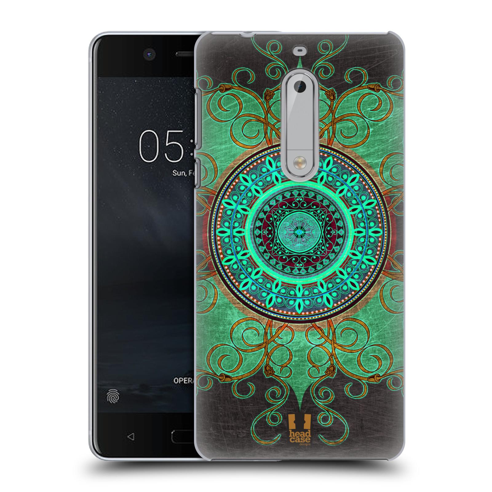 Plastové pouzdro na mobil Nokia 5 Head Case - ARAB MANDALA