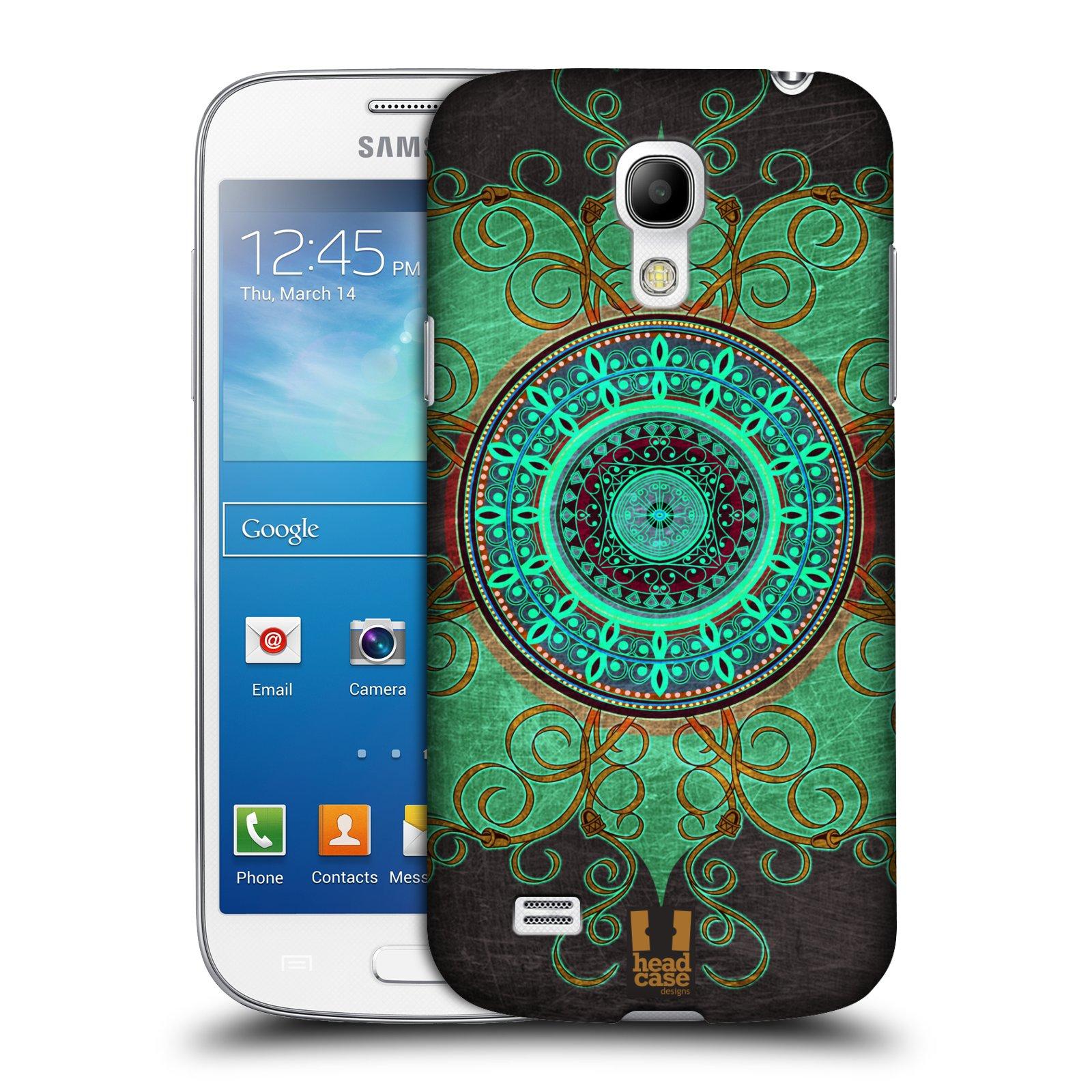 Plastové pouzdro na mobil Samsung Galaxy S4 Mini VE HEAD CASE ARAB MANDALA