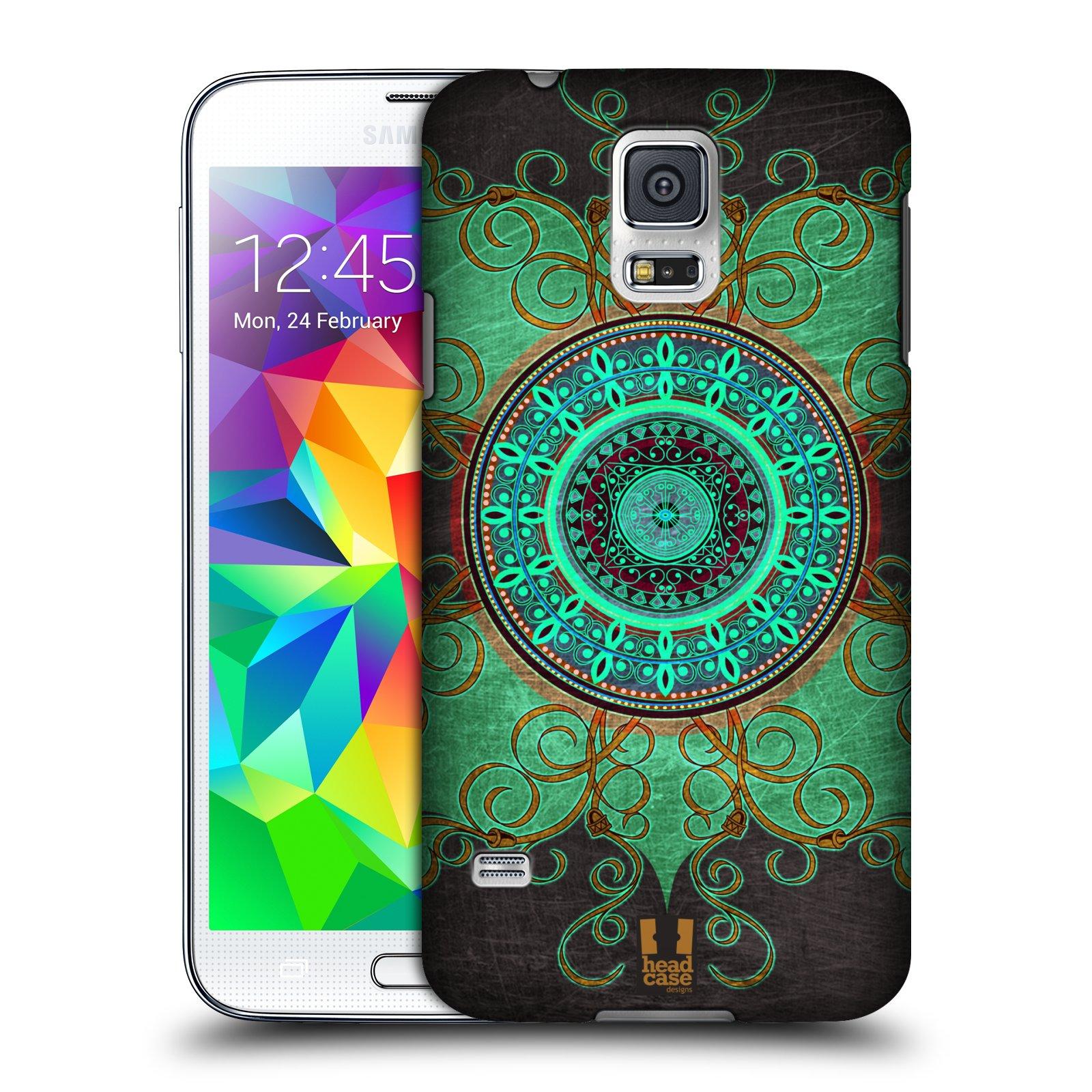 Plastové pouzdro na mobil Samsung Galaxy S5 HEAD CASE ARAB MANDALA