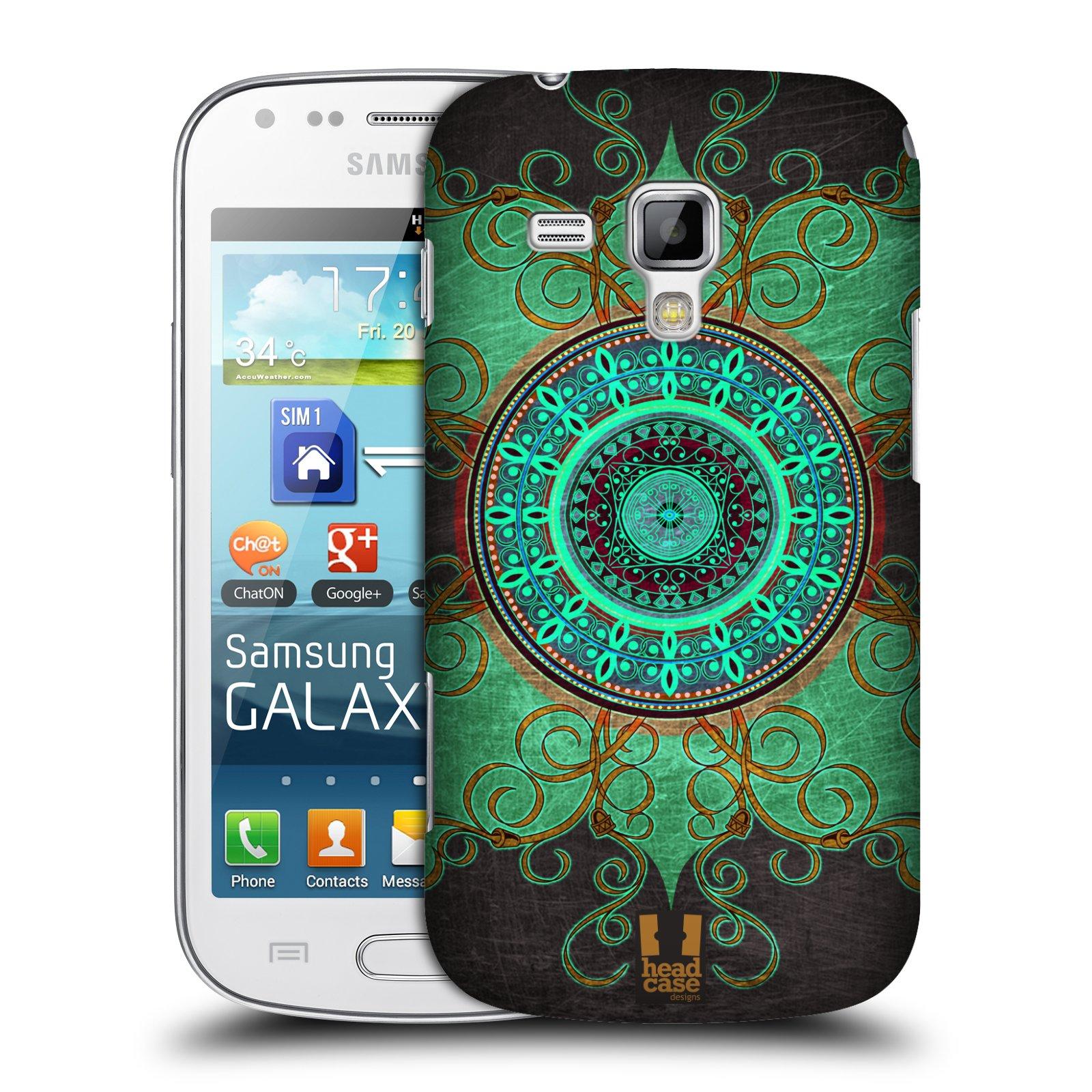 Plastové pouzdro na mobil Samsung Galaxy Trend Plus HEAD CASE ARAB MANDALA