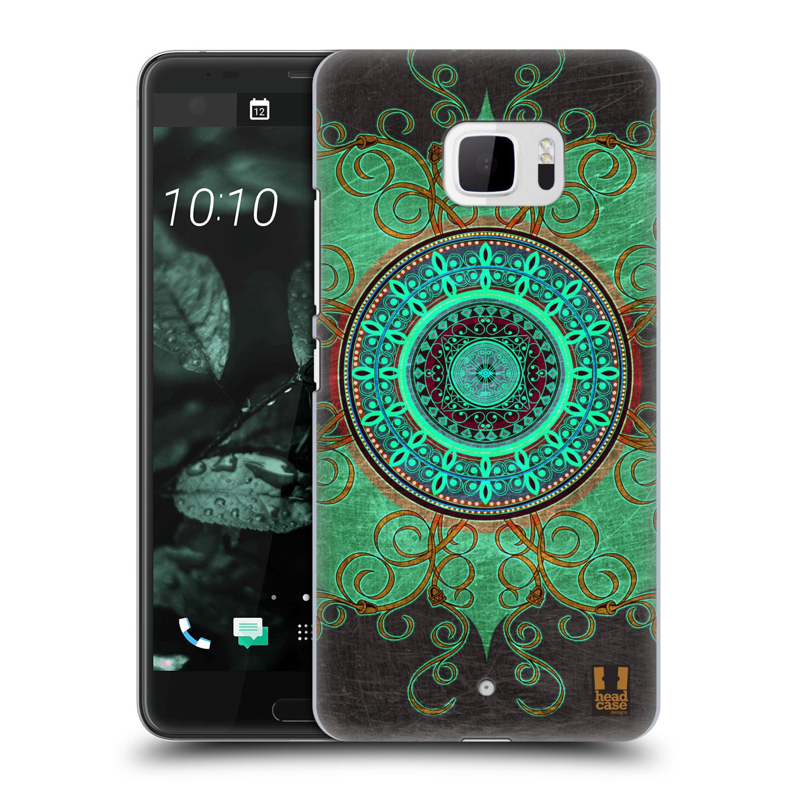 Plastové pouzdro na mobil HTC U Ultra Head Case - ARAB MANDALA (Plastový kryt či obal na mobilní telefon HTC U Ultra (99HALT015-00))