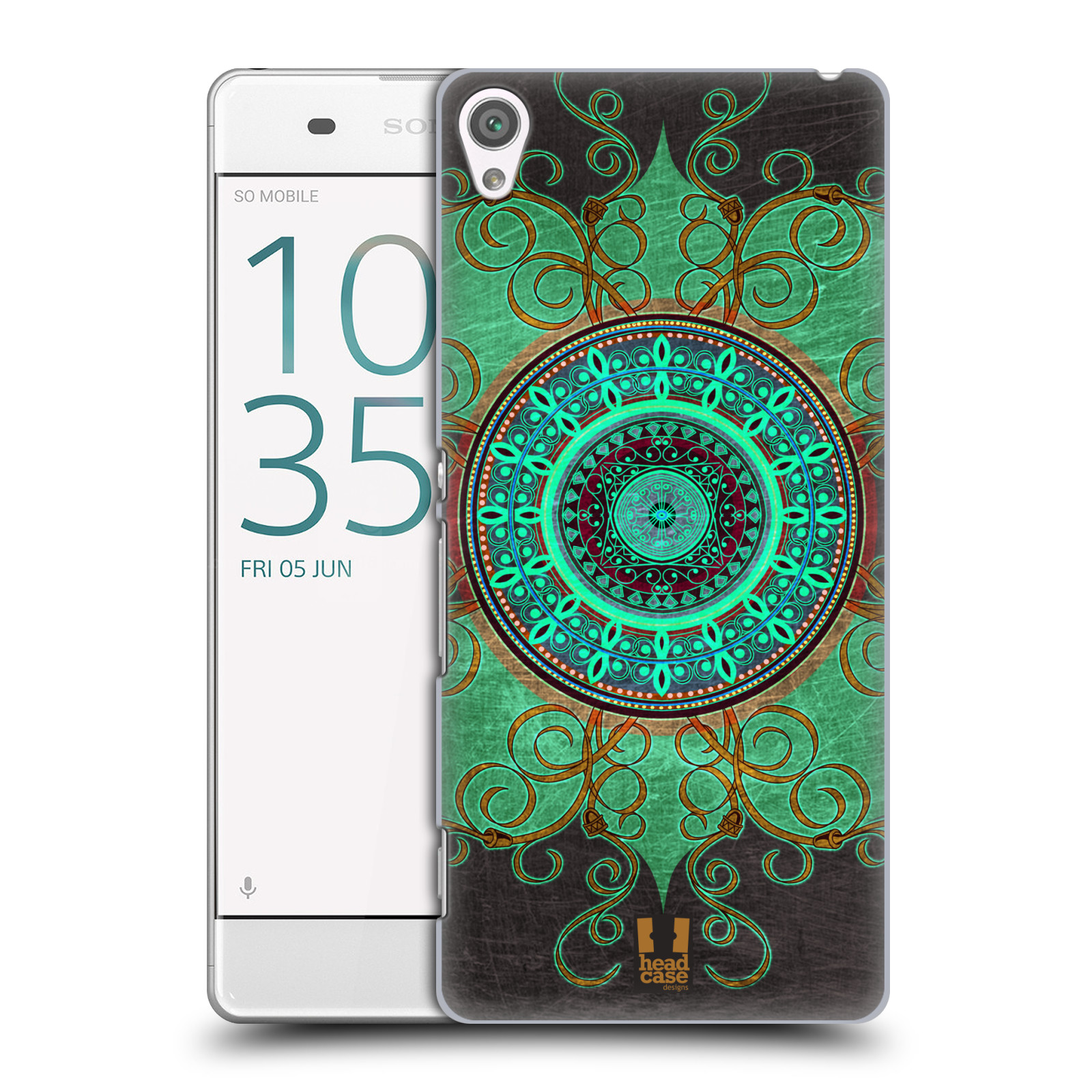 Plastové pouzdro na mobil Sony Xperia XA HEAD CASE ARAB MANDALA