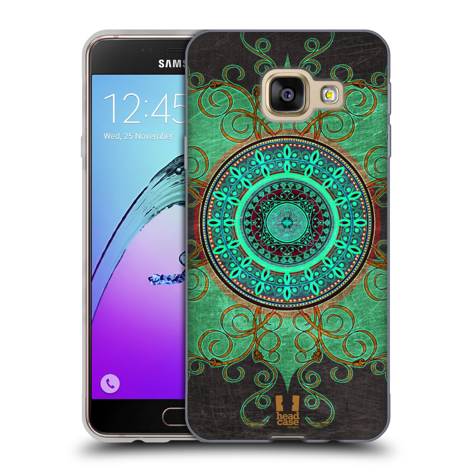 Silikonové pouzdro na mobil Samsung Galaxy A3 (2016) HEAD CASE ARAB MANDALA