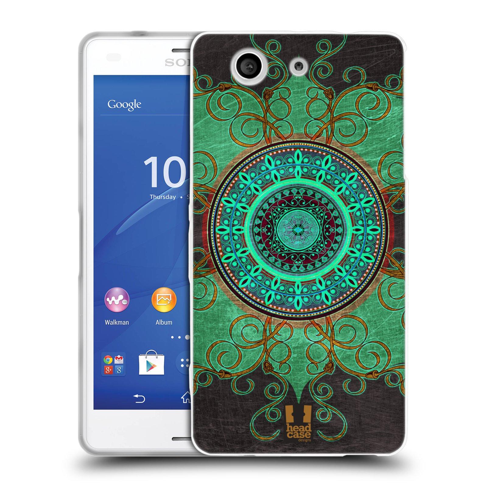 Silikonové pouzdro na mobil Sony Xperia Z3 Compact D5803 HEAD CASE ARAB MANDALA