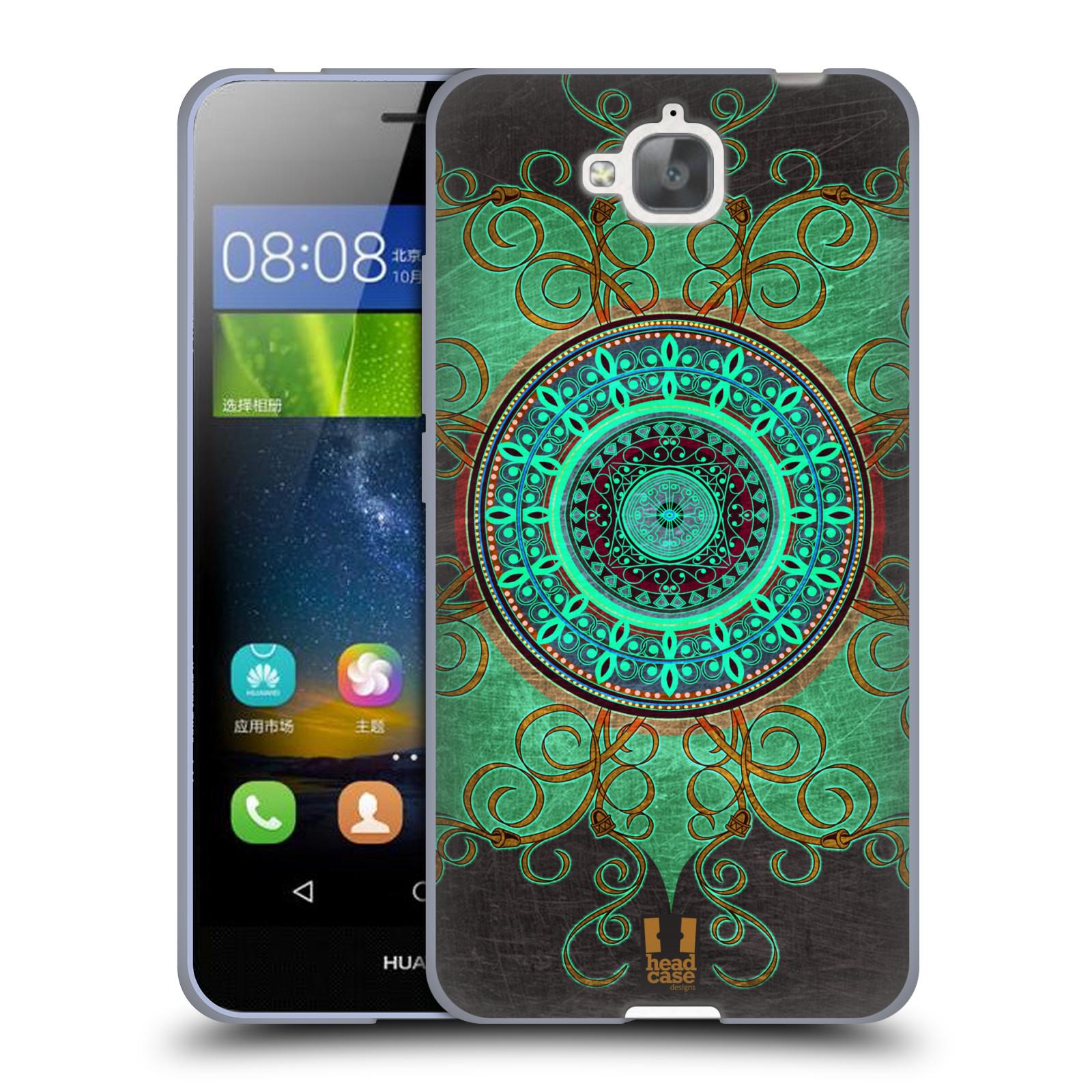 Silikonové pouzdro na mobil Huawei Y6 Pro Dual Sim HEAD CASE ARAB MANDALA