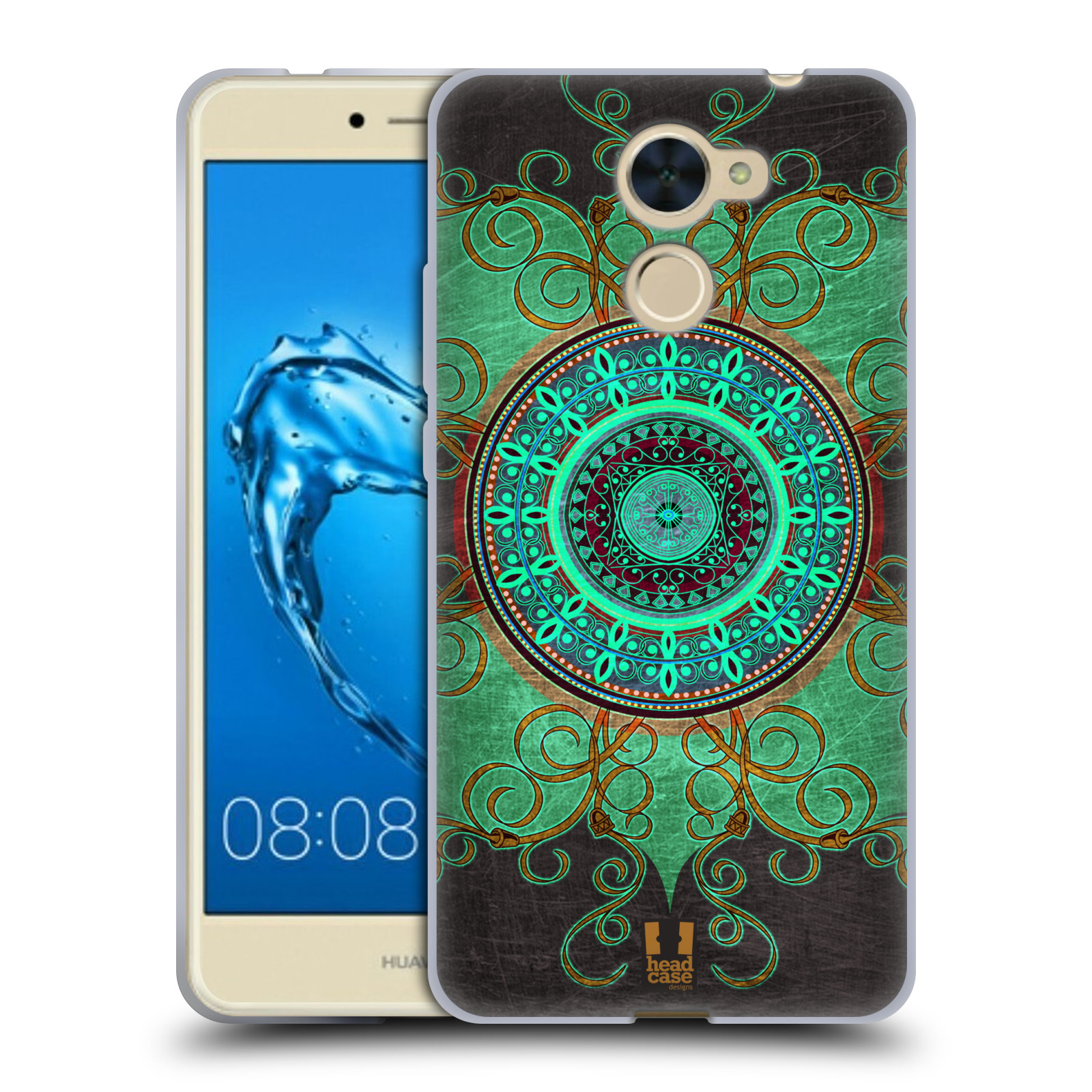 Silikonové pouzdro na mobil Huawei Y7 - Head Case - ARAB MANDALA