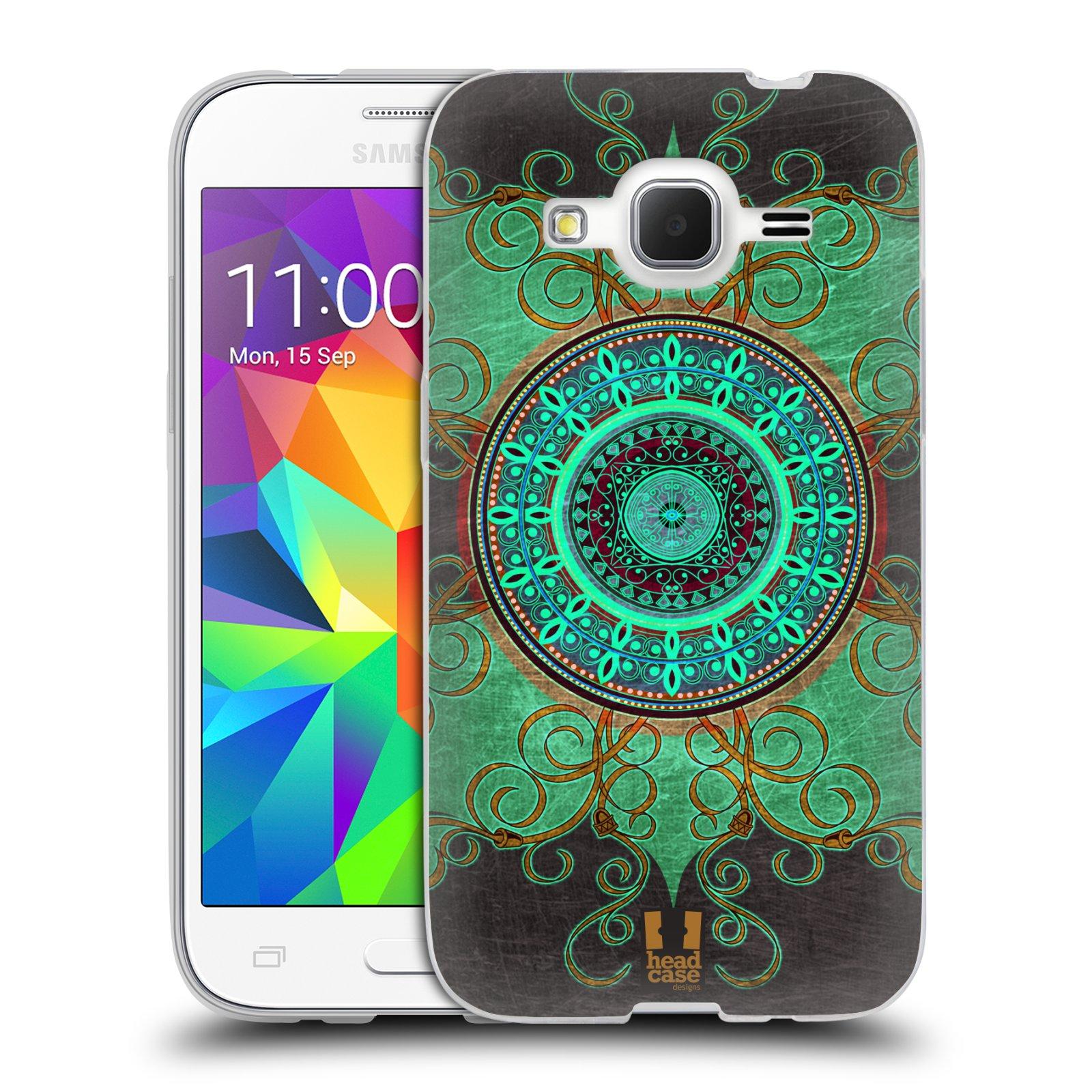 Silikonové pouzdro na mobil Samsung Galaxy Core Prime LTE HEAD CASE ARAB MANDALA
