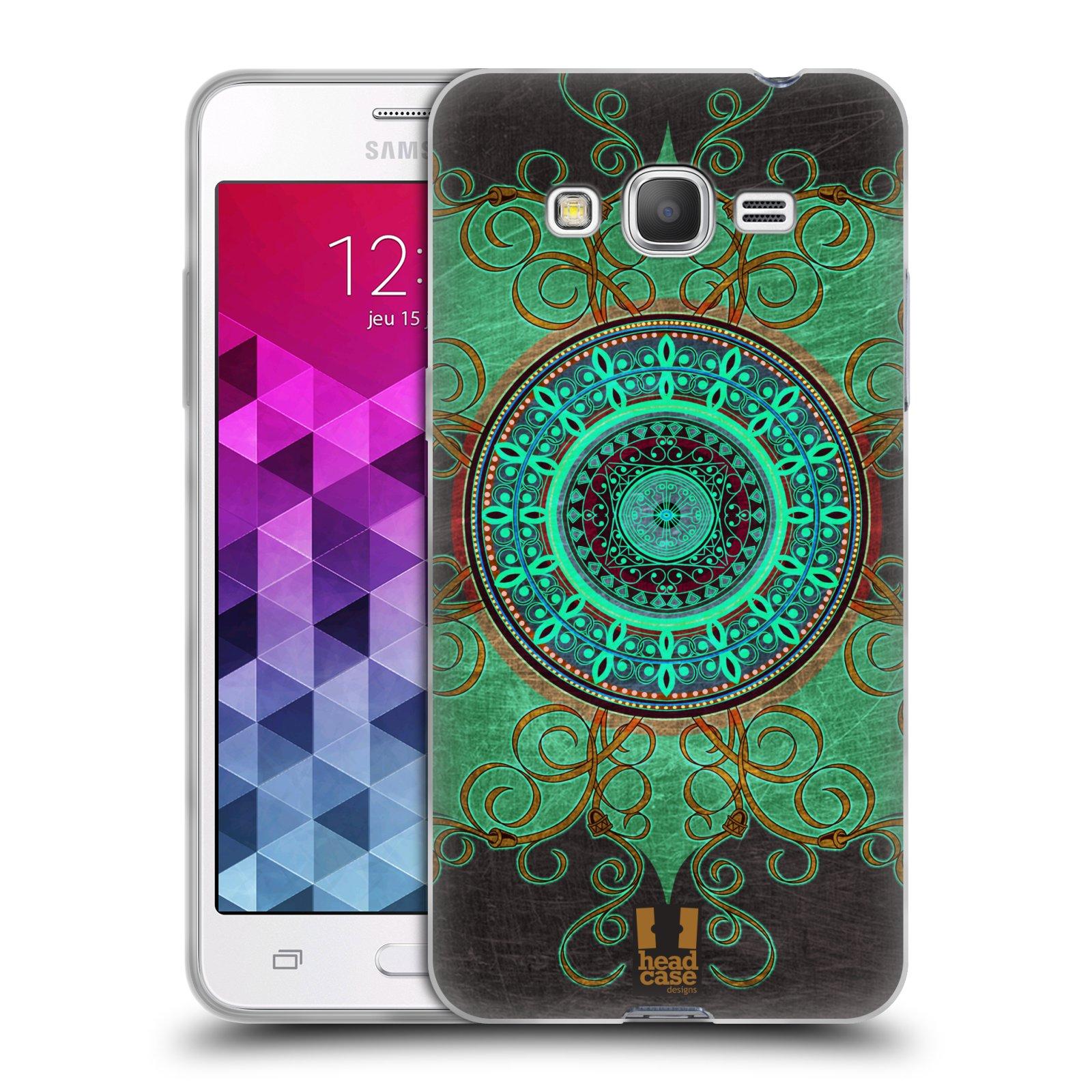 Silikonové pouzdro na mobil Samsung Galaxy Grand Prime HEAD CASE ARAB MANDALA