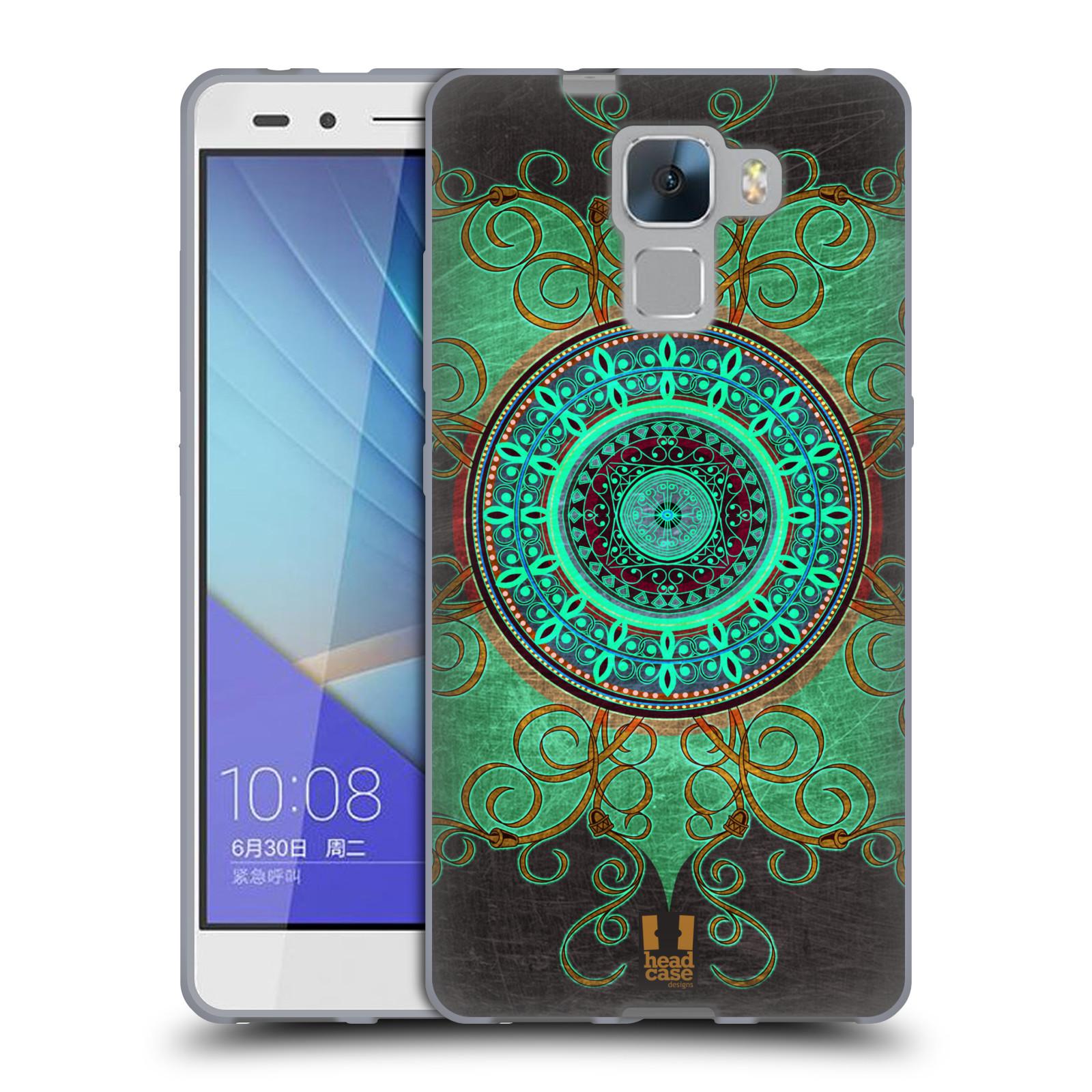 Silikonové pouzdro na mobil Honor 7 HEAD CASE ARAB MANDALA