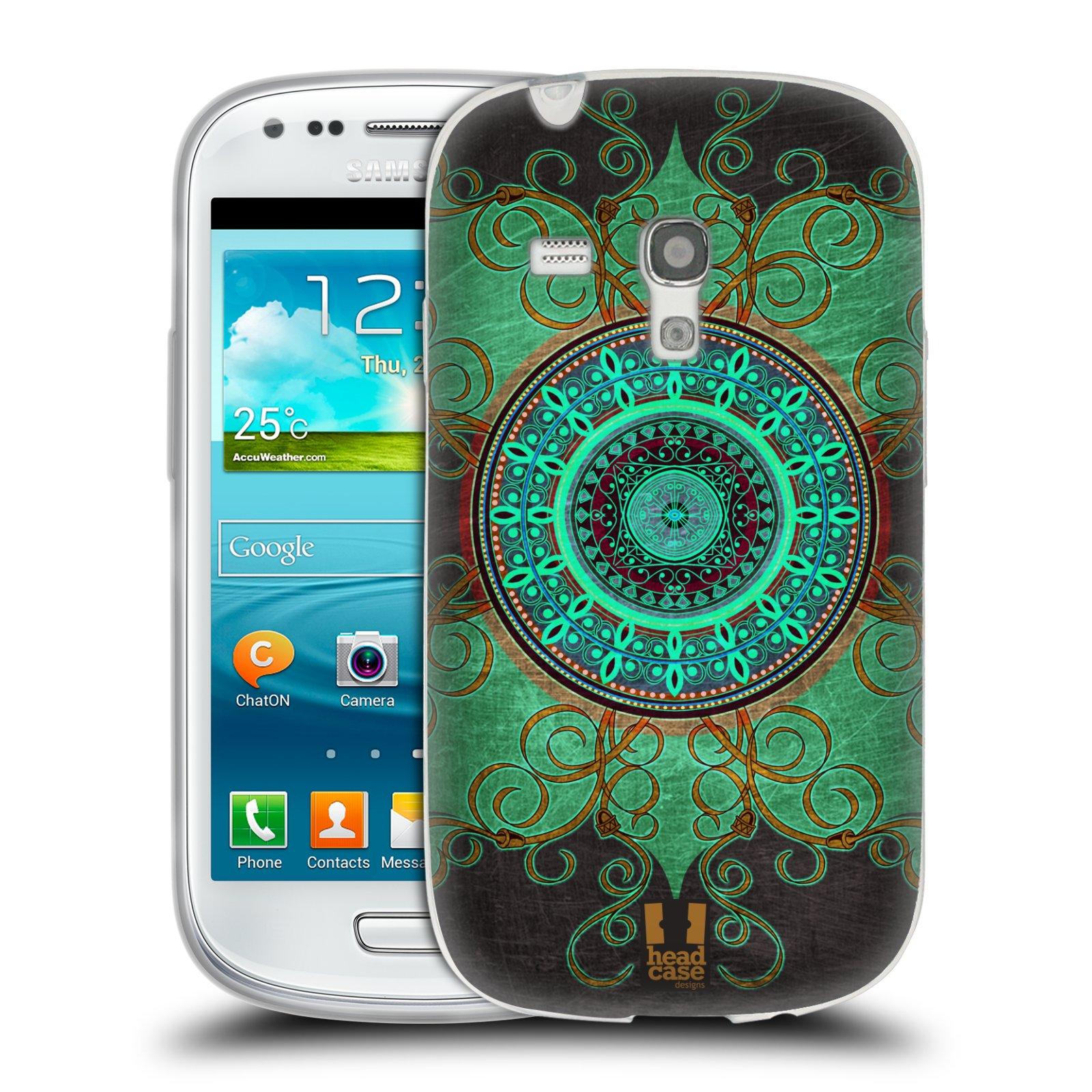 Silikonové pouzdro na mobil Samsung Galaxy S III Mini HEAD CASE ARAB MANDALA (Silikonový kryt či obal na mobilní telefon Samsung Galaxy S III Mini GT-i8190)