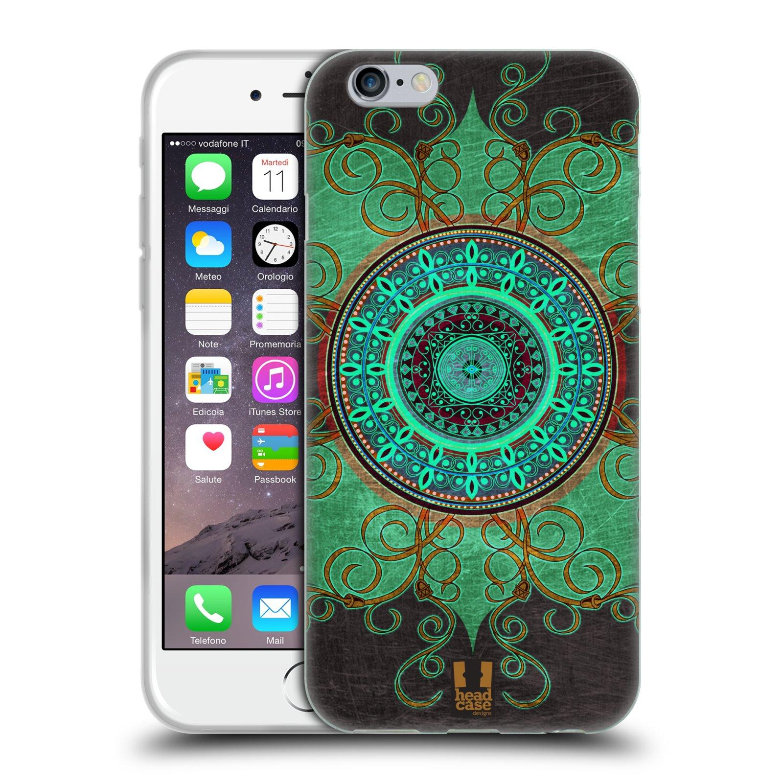 Silikonové pouzdro na mobil Apple iPhone 6 a 6S HEAD CASE ARAB MANDALA