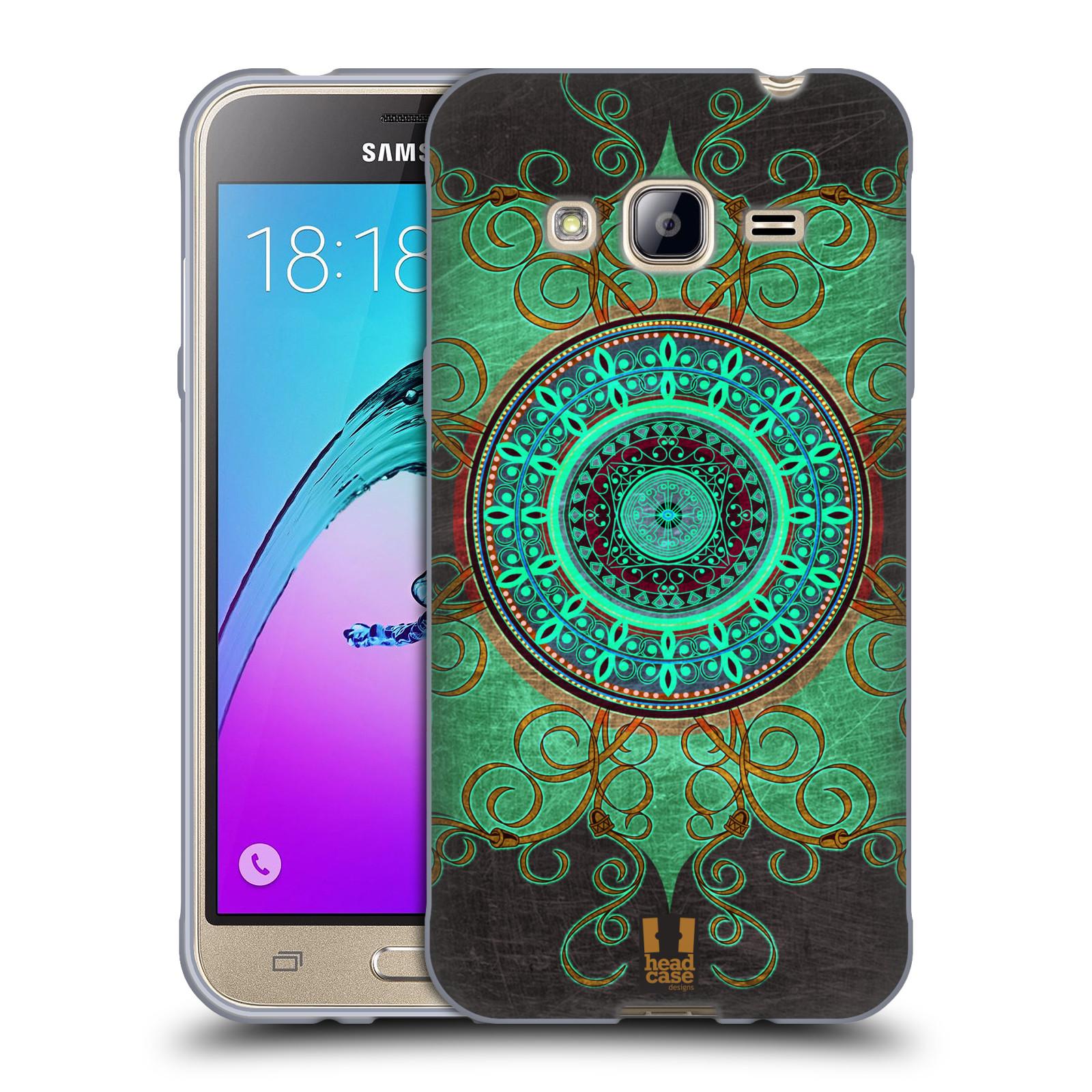 Silikonové pouzdro na mobil Samsung Galaxy J3 (2016) HEAD CASE ARAB MANDALA