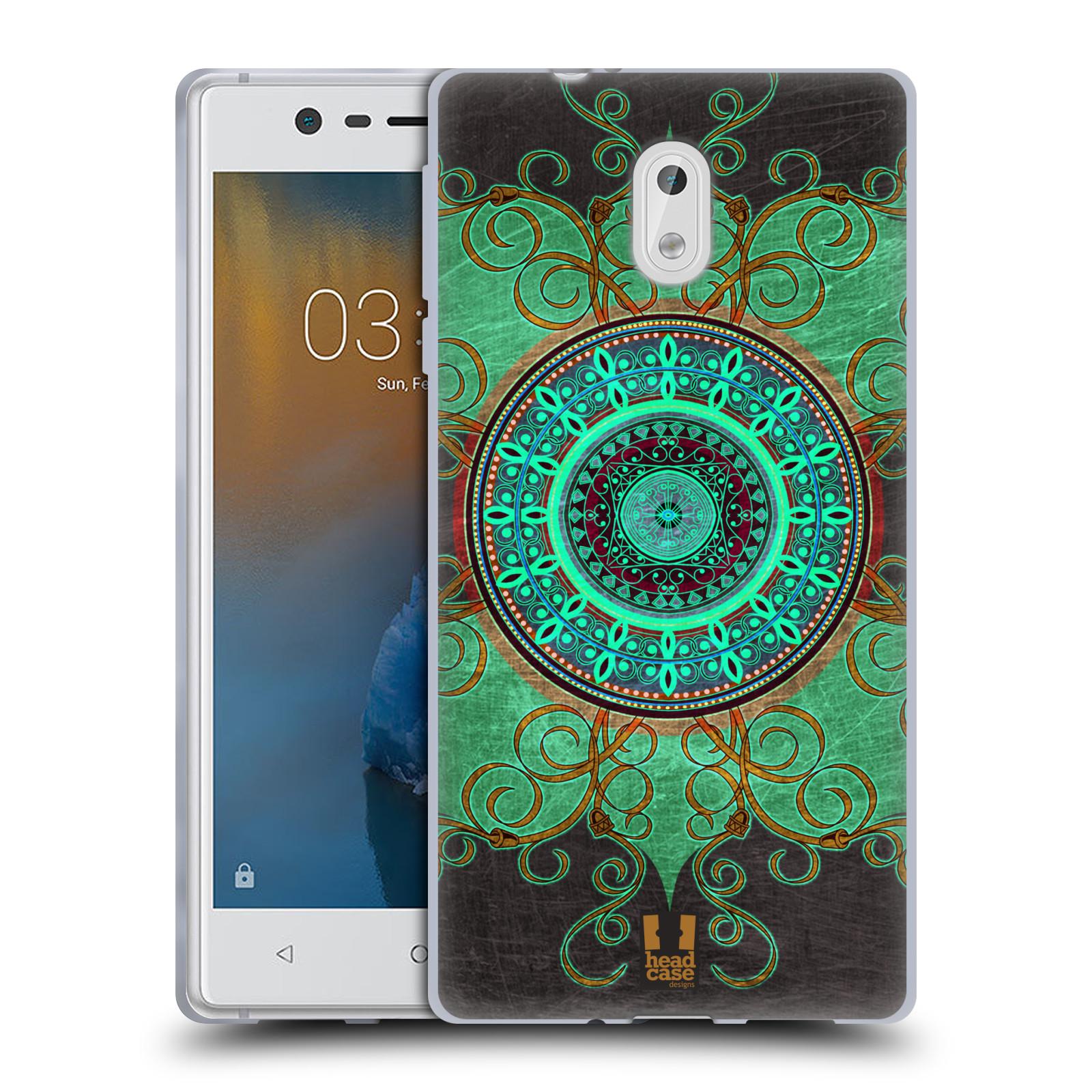 Silikonové pouzdro na mobil Nokia 3 Head Case - ARAB MANDALA