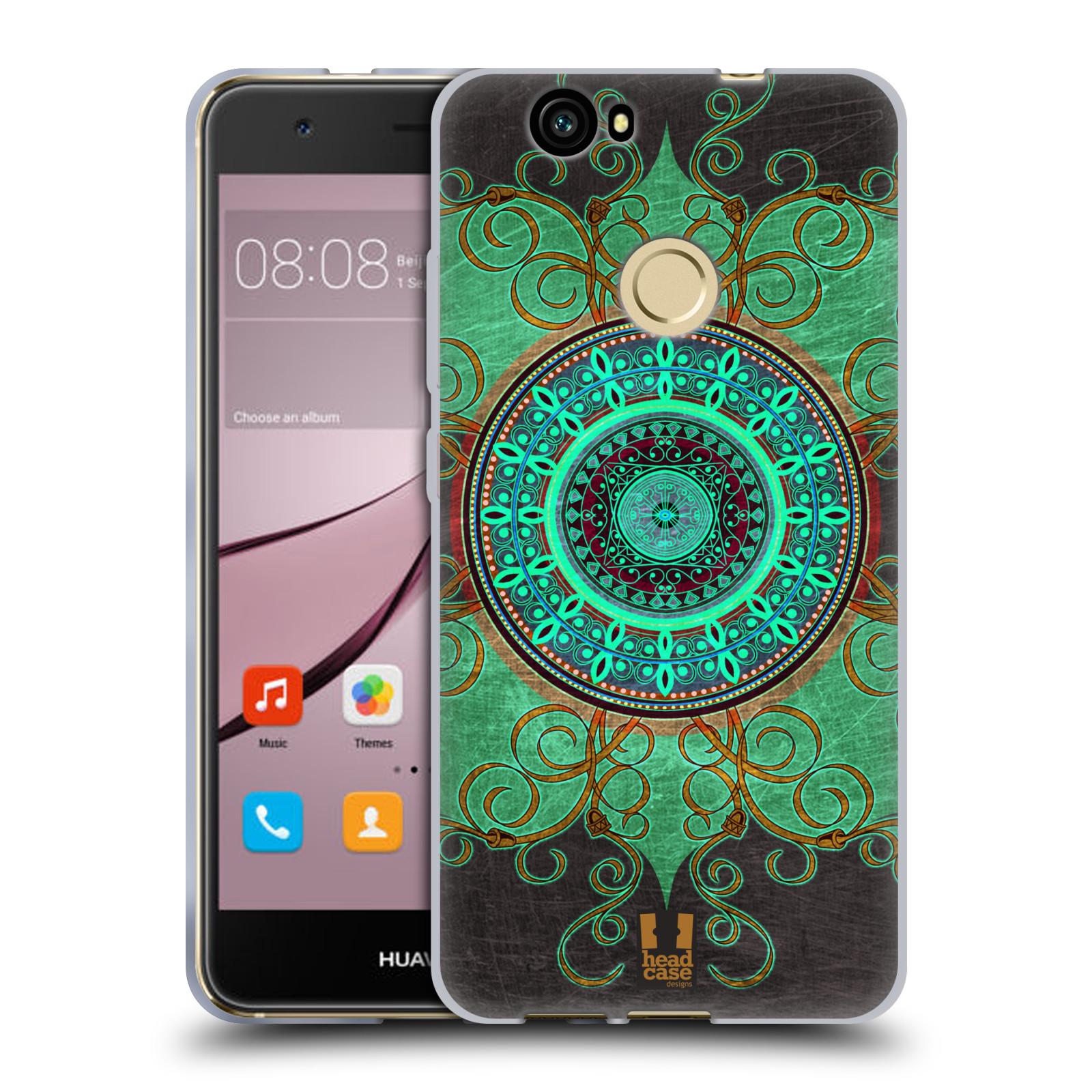 Silikonové pouzdro na mobil Huawei Nova - Head Case - ARAB MANDALA