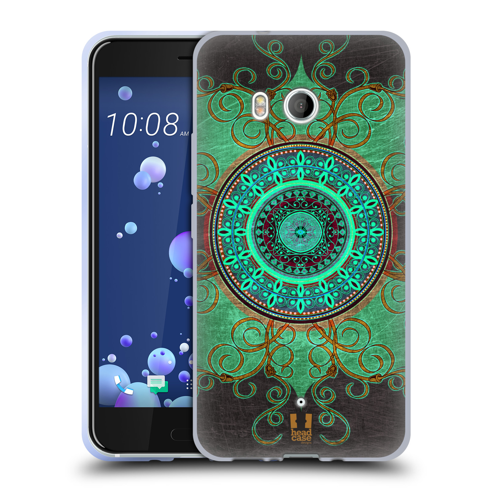 Silikonové pouzdro na mobil HTC U11 - Head Case - ARAB MANDALA
