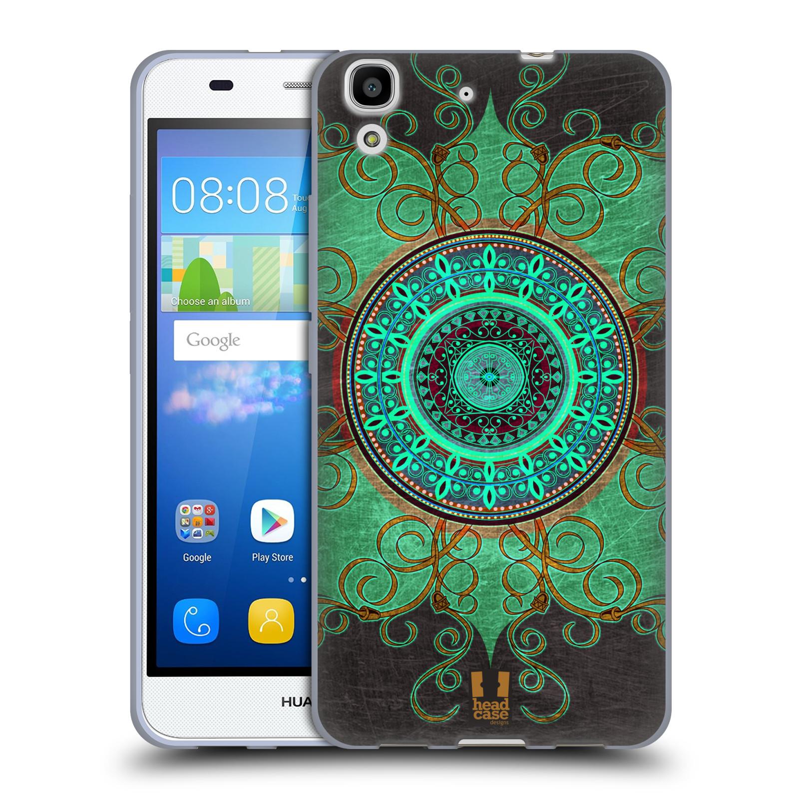 Silikonové pouzdro na mobil Huawei Y6 HEAD CASE ARAB MANDALA