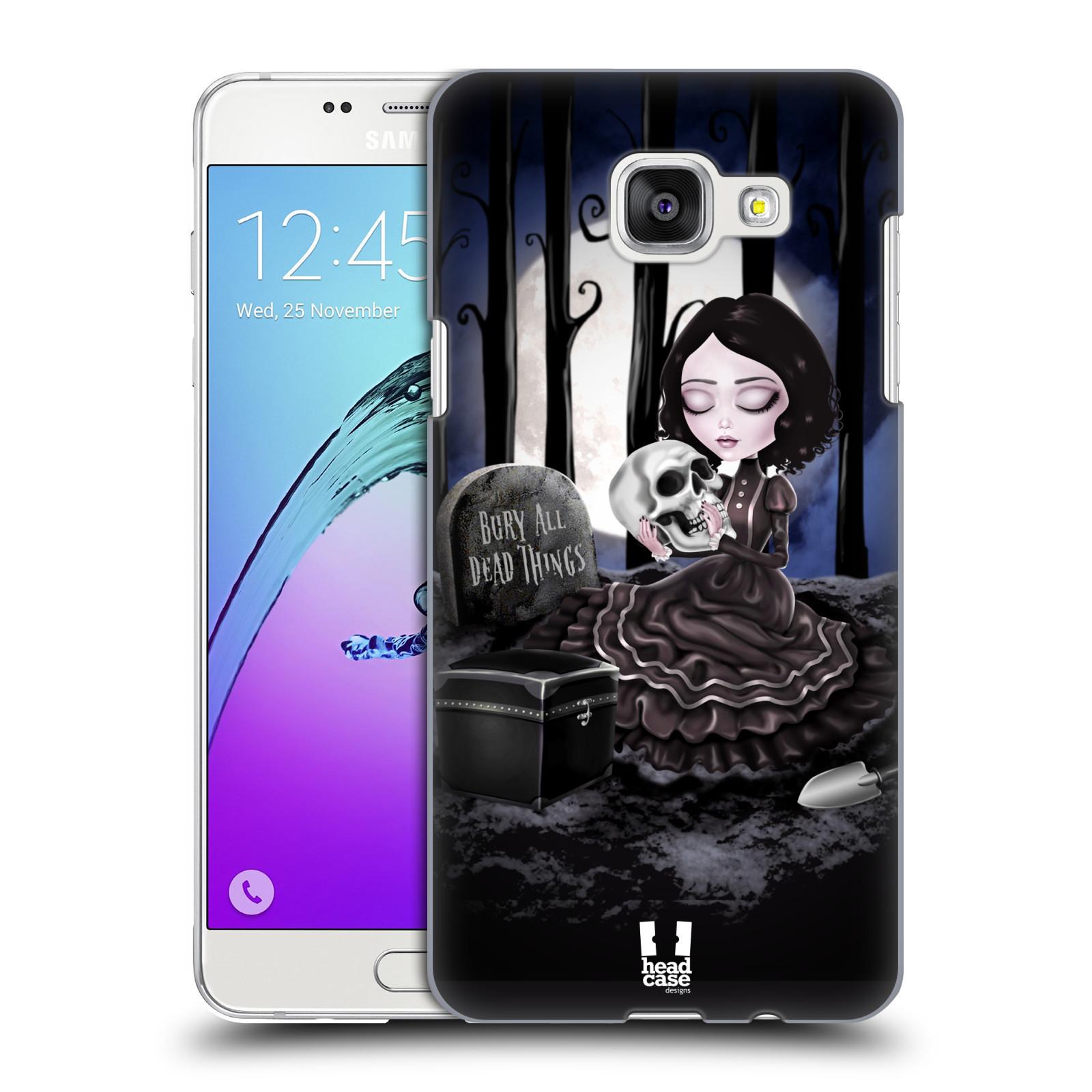 Plastové pouzdro na mobil Samsung Galaxy A5 (2016) HEAD CASE MACABRE HŘBITOV