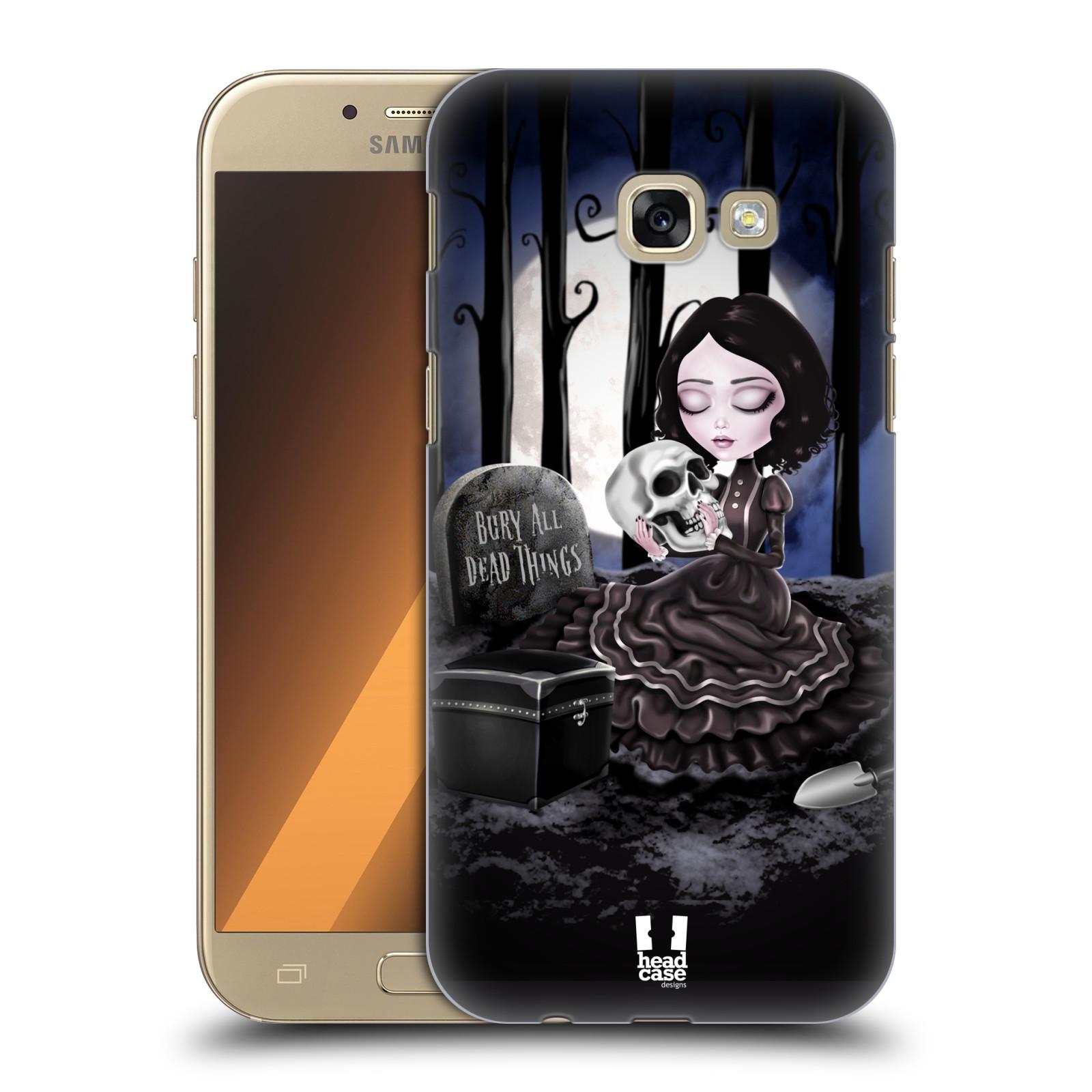 Plastové pouzdro na mobil Samsung Galaxy A5 (2017) HEAD CASE MACABRE HŘBITOV