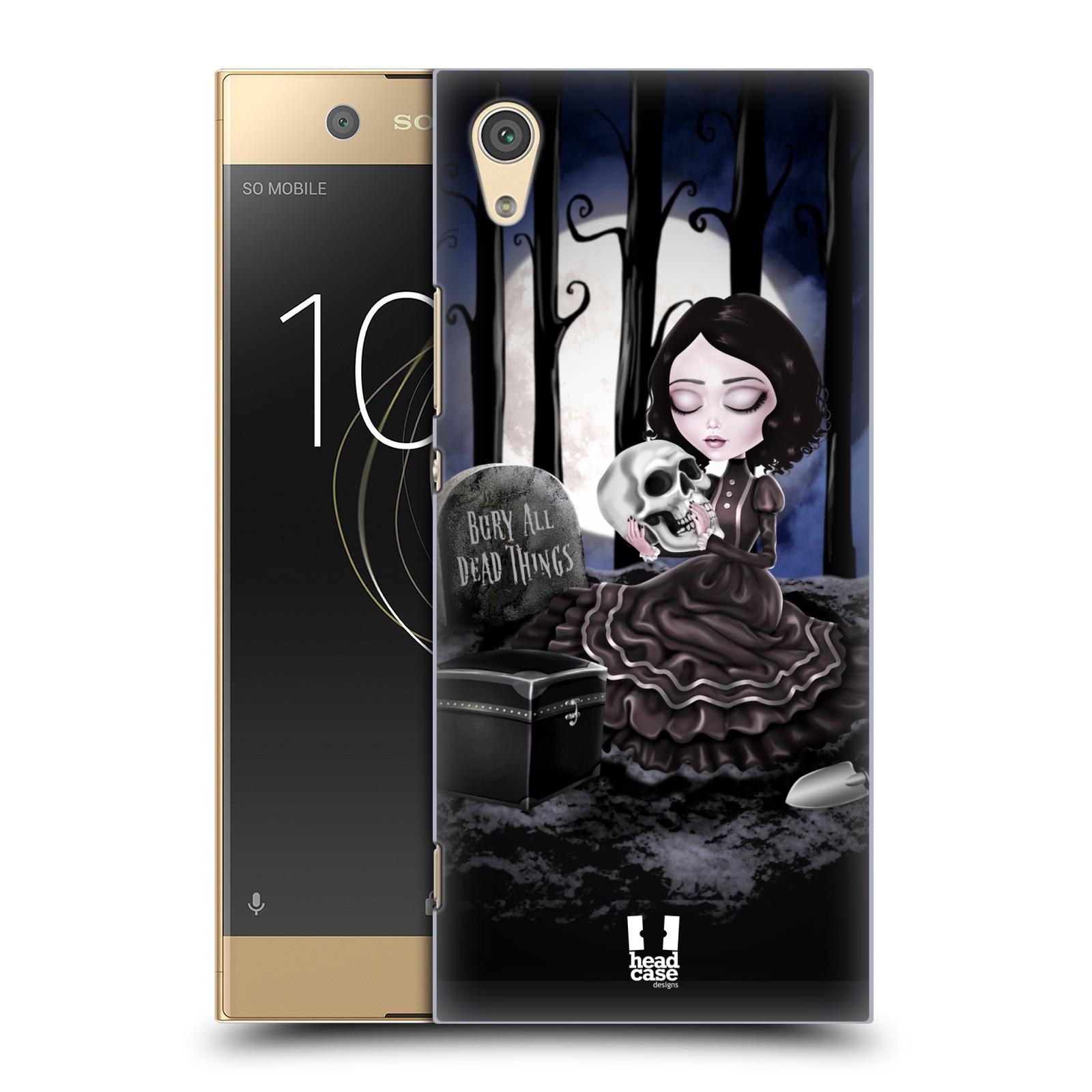 Plastové pouzdro na mobil Sony Xperia XA1 - Head Case - MACABRE HŘBITOV