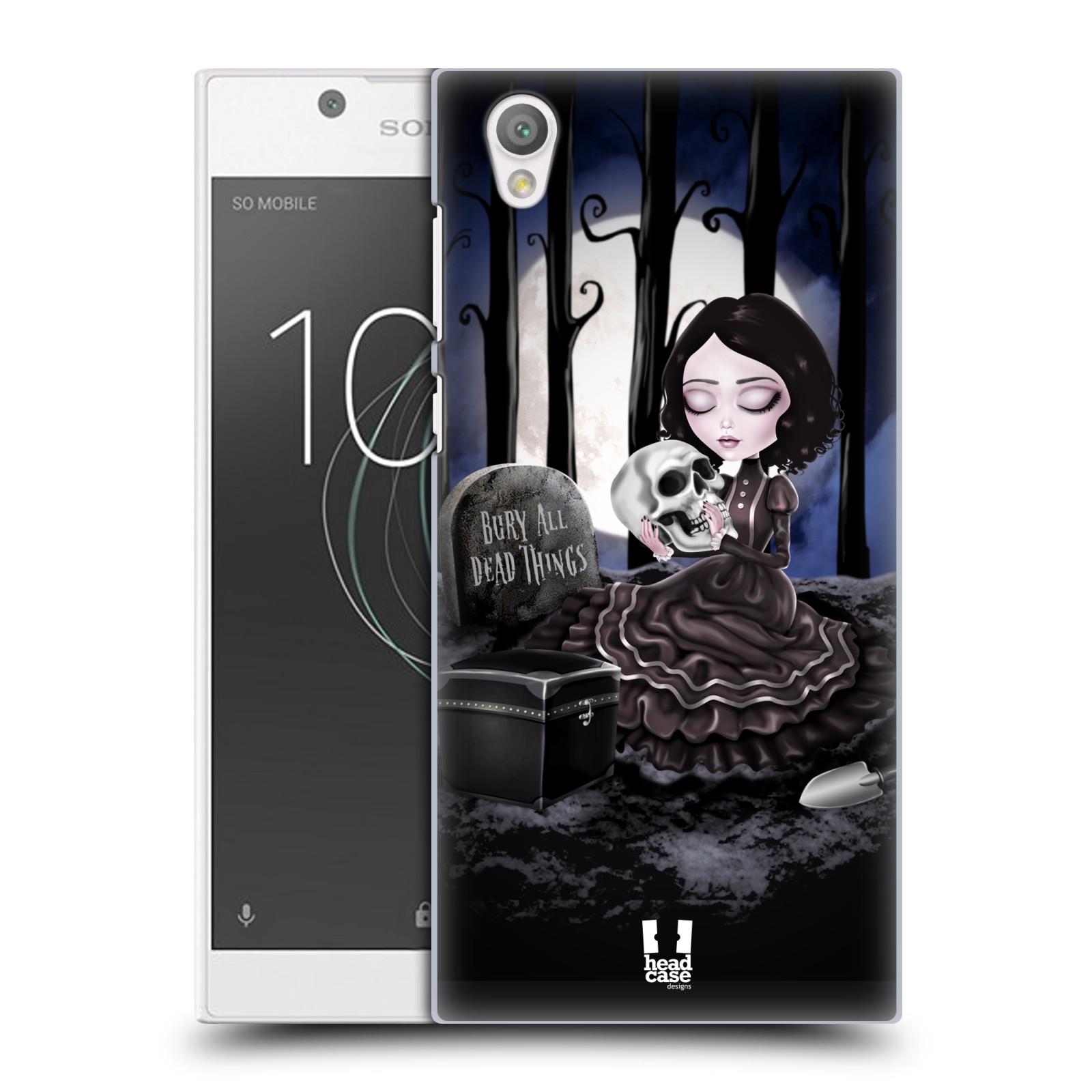 Plastové pouzdro na mobil Sony Xperia L1 - Head Case - MACABRE HŘBITOV
