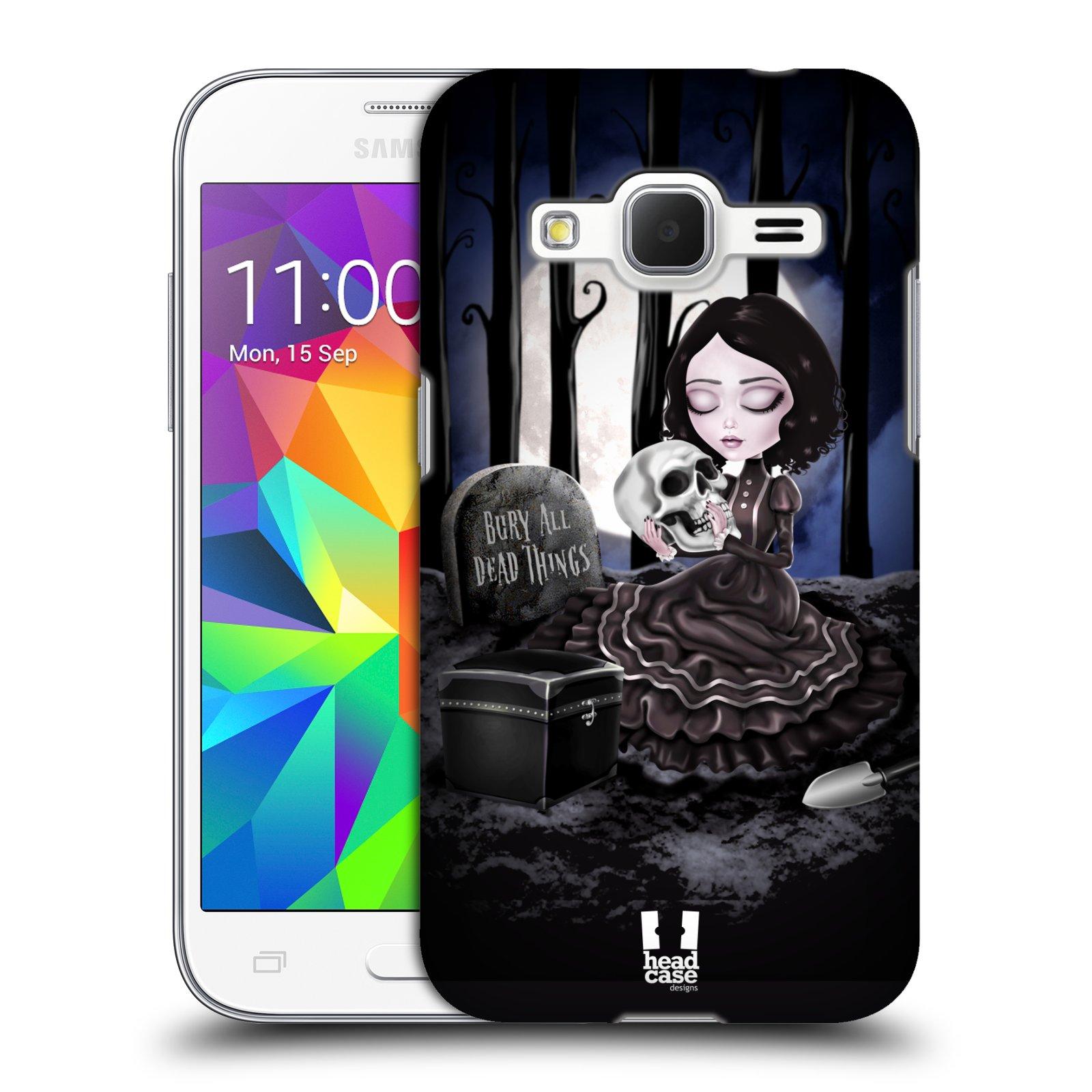 Plastové pouzdro na mobil Samsung Galaxy Core Prime LTE HEAD CASE MACABRE HŘBITOV