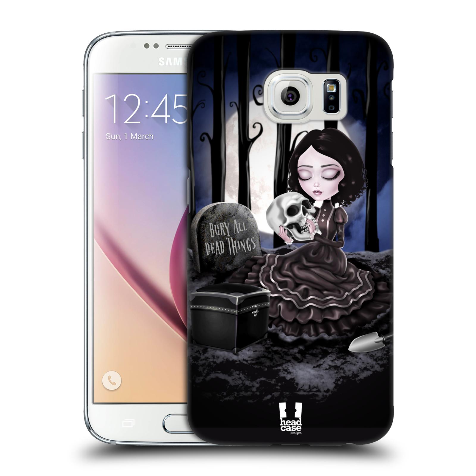 Plastové pouzdro na mobil Samsung Galaxy S6 HEAD CASE MACABRE HŘBITOV