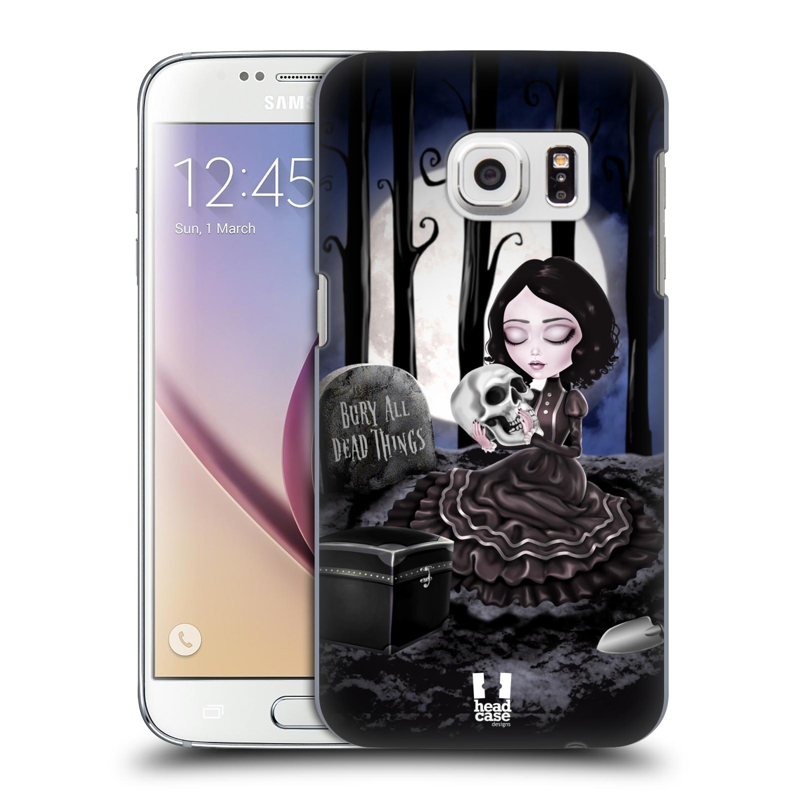 Plastové pouzdro na mobil Samsung Galaxy S7 HEAD CASE MACABRE HŘBITOV (Kryt či obal na mobilní telefon Samsung Galaxy S7 SM-G930F)