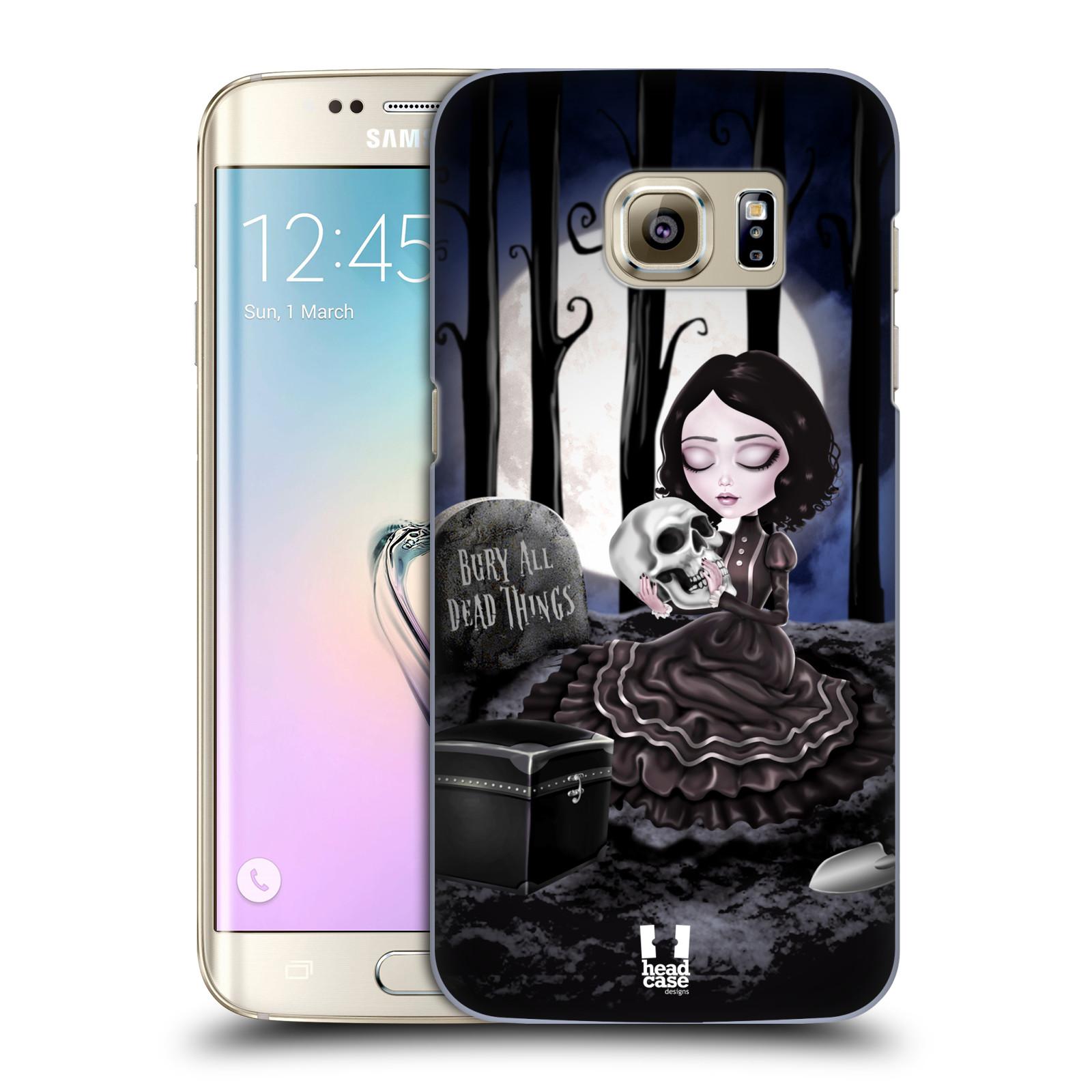 Plastové pouzdro na mobil Samsung Galaxy S7 Edge HEAD CASE MACABRE HŘBITOV