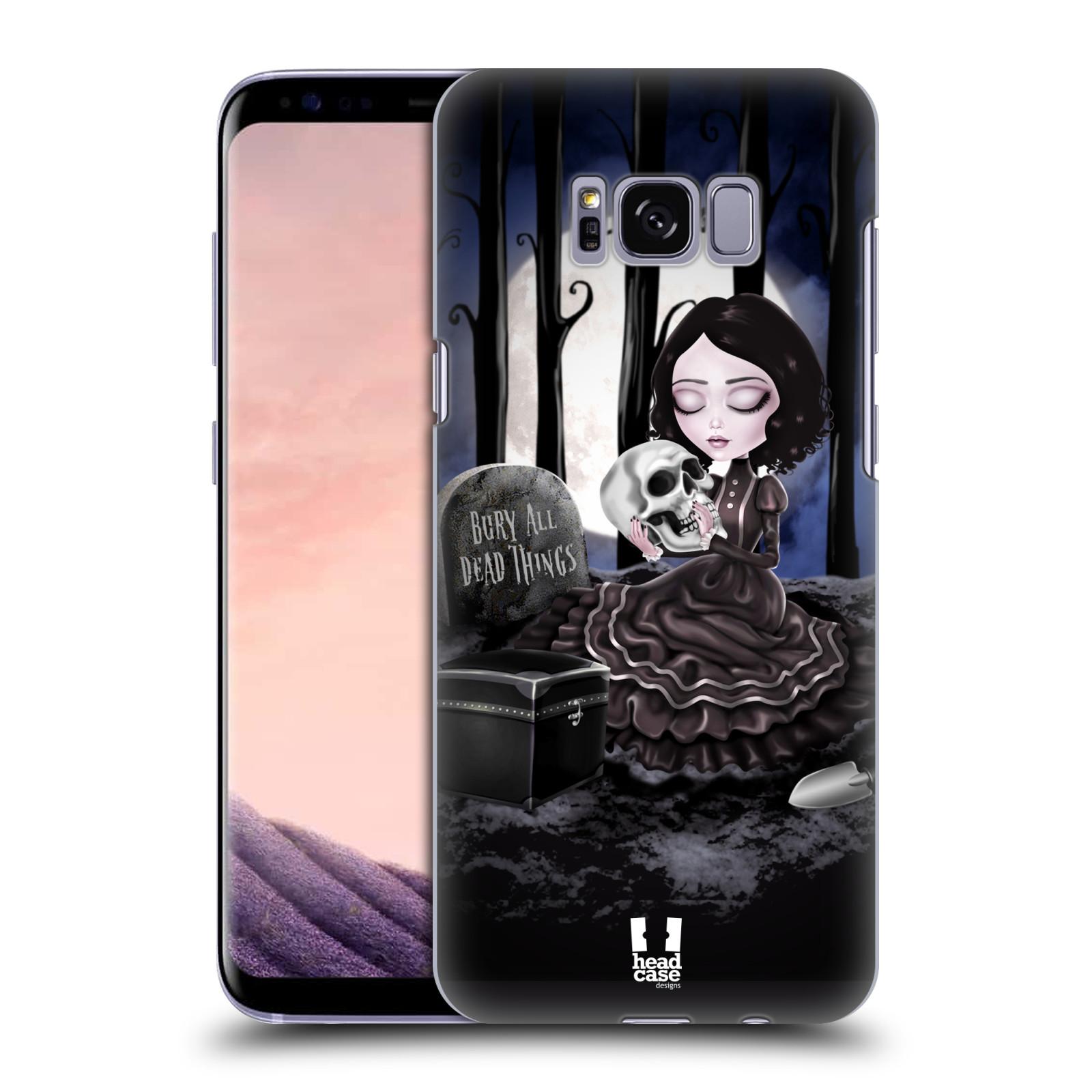 Plastové pouzdro na mobil Samsung Galaxy S8 Head Case MACABRE HŘBITOV
