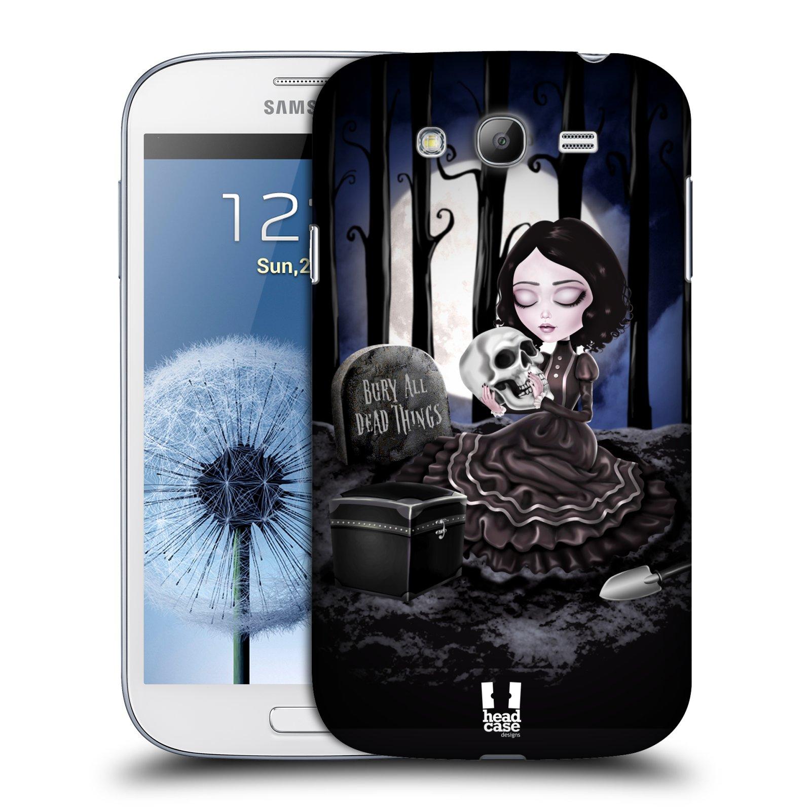 Plastové pouzdro na mobil Samsung Galaxy Grand Neo HEAD CASE MACABRE HŘBITOV