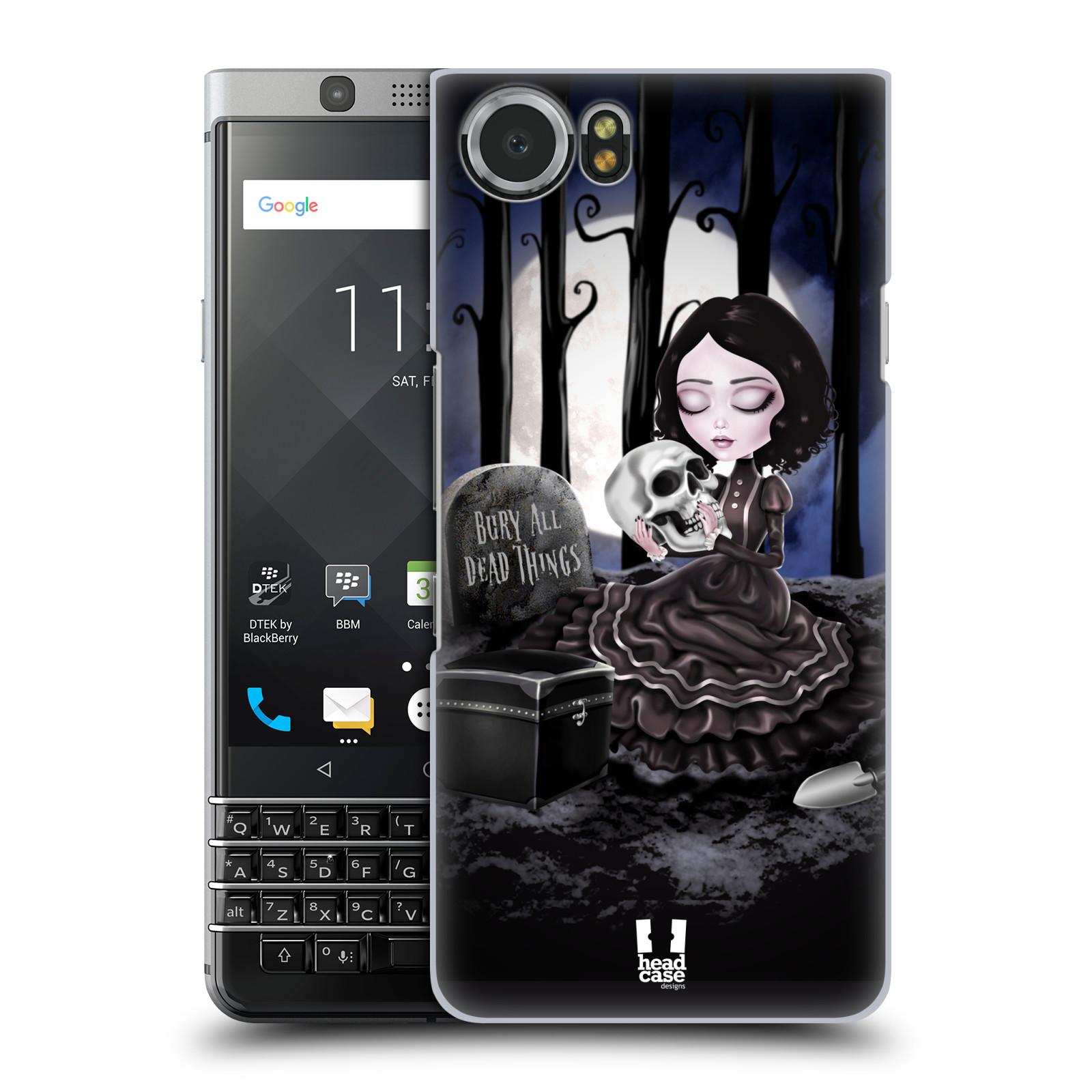 Plastové pouzdro na mobil BlackBerry KEYone - Head Case - MACABRE HŘBITOV